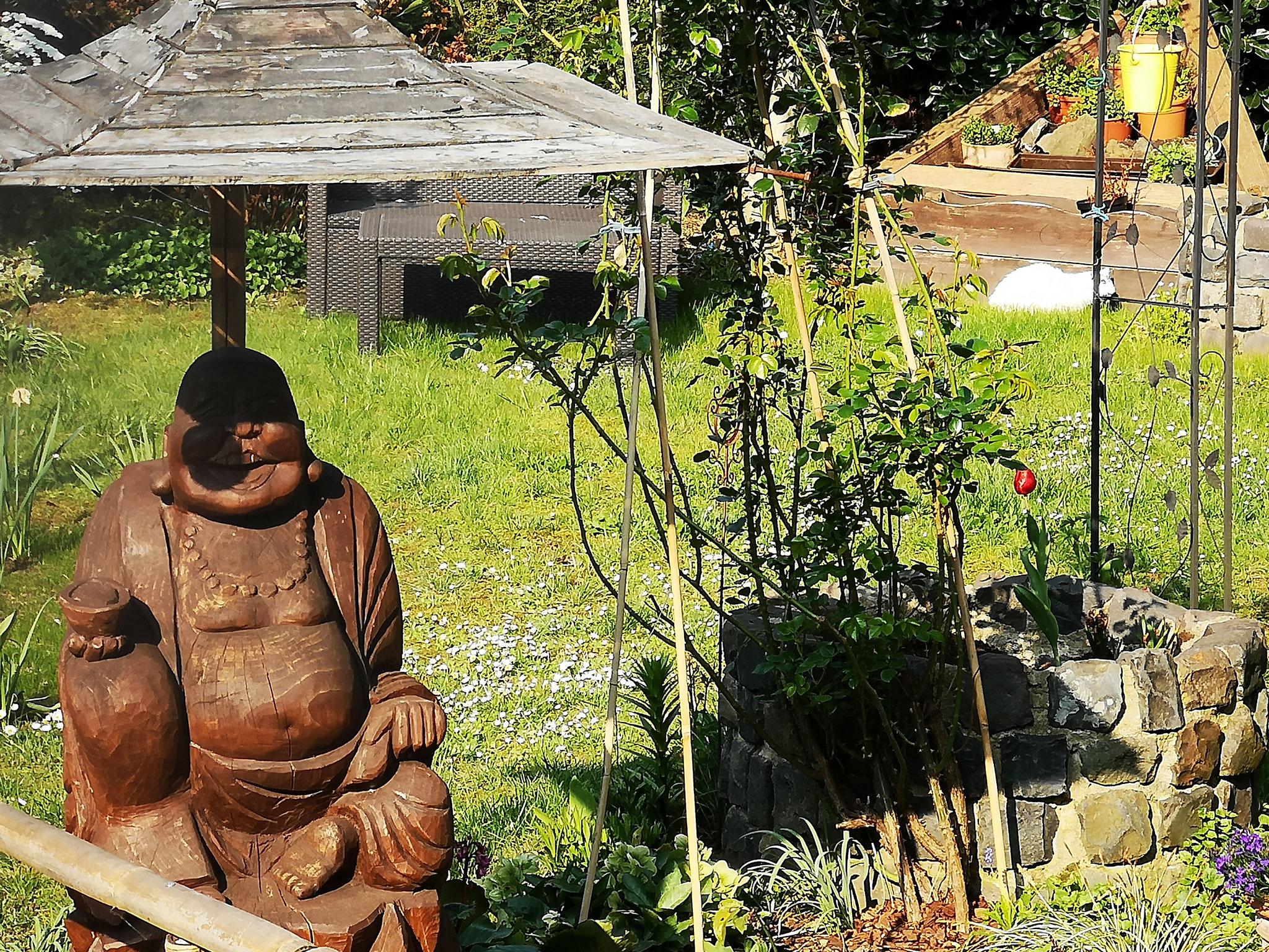 Buddha, unser Zeichen der Ruhe und Oase in Köln