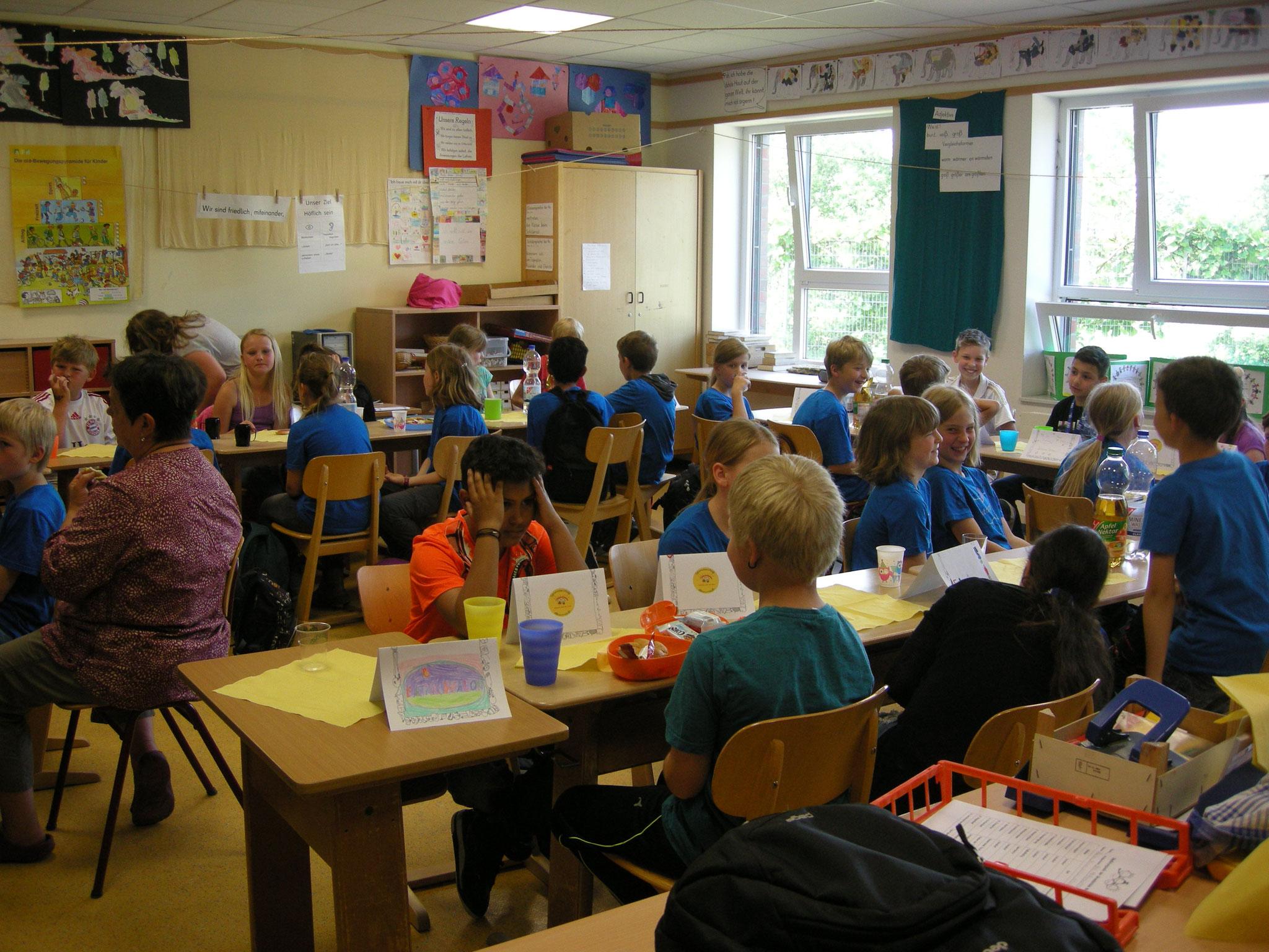 Schüleraustausch der vierten Klassen