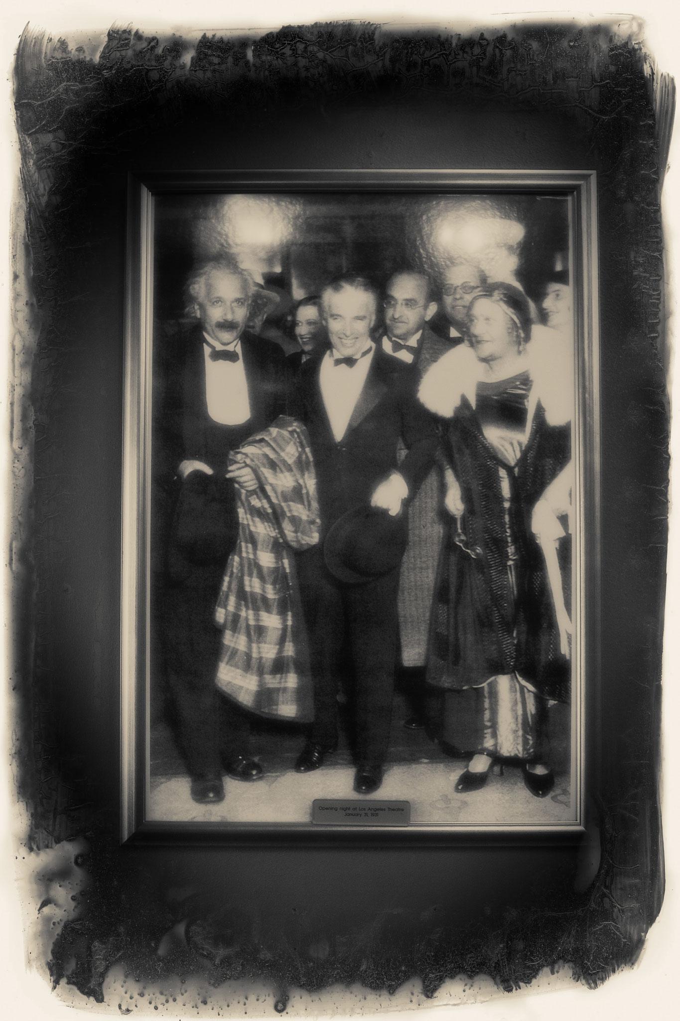 LOS ANGELES THEATER OPENNING WITH CHARLIE CHAPLIN & ALBERT EINSTEIN 1931
