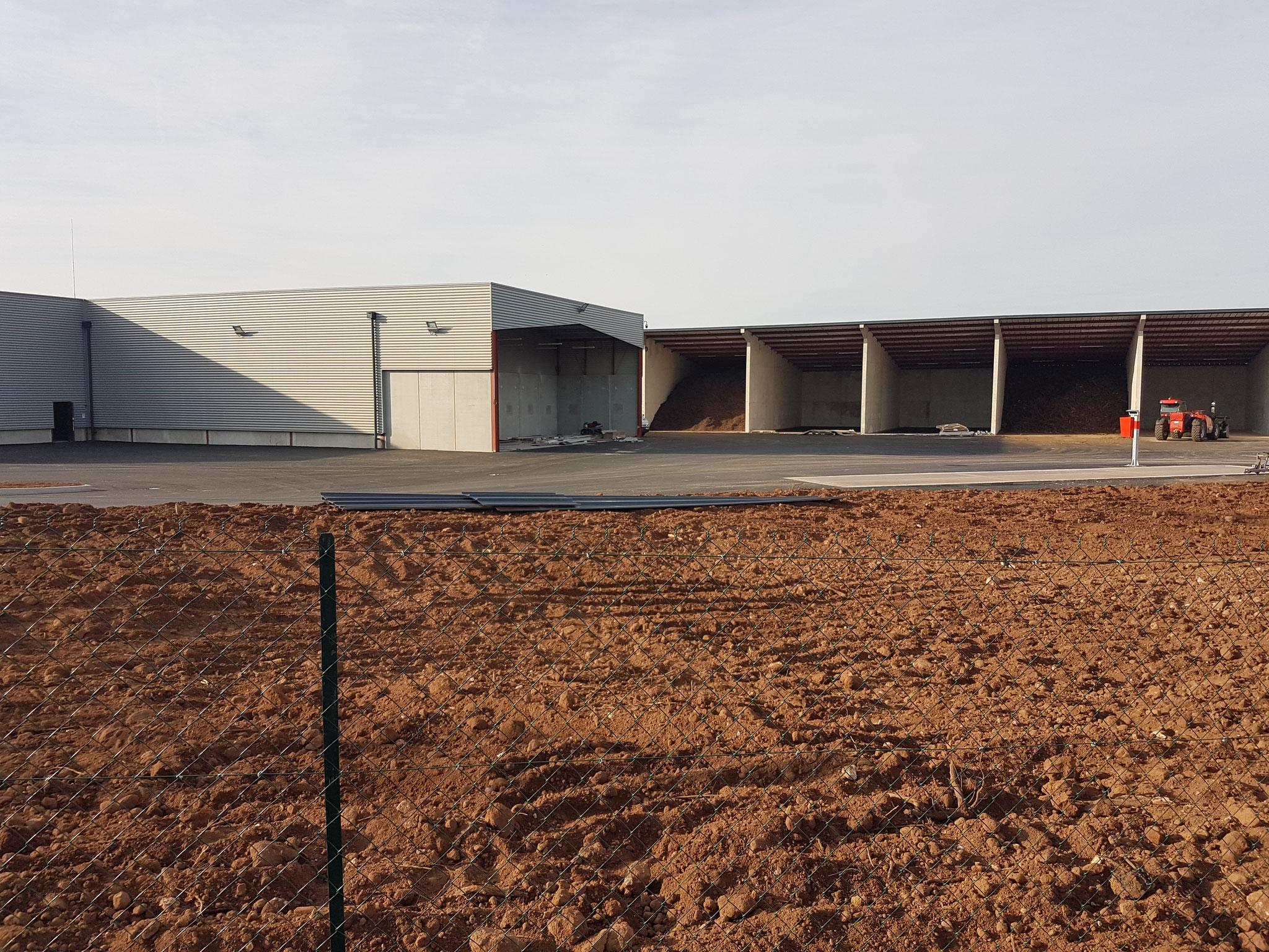 Construction d'une déchetterie et d'un site technique à DREVANT
