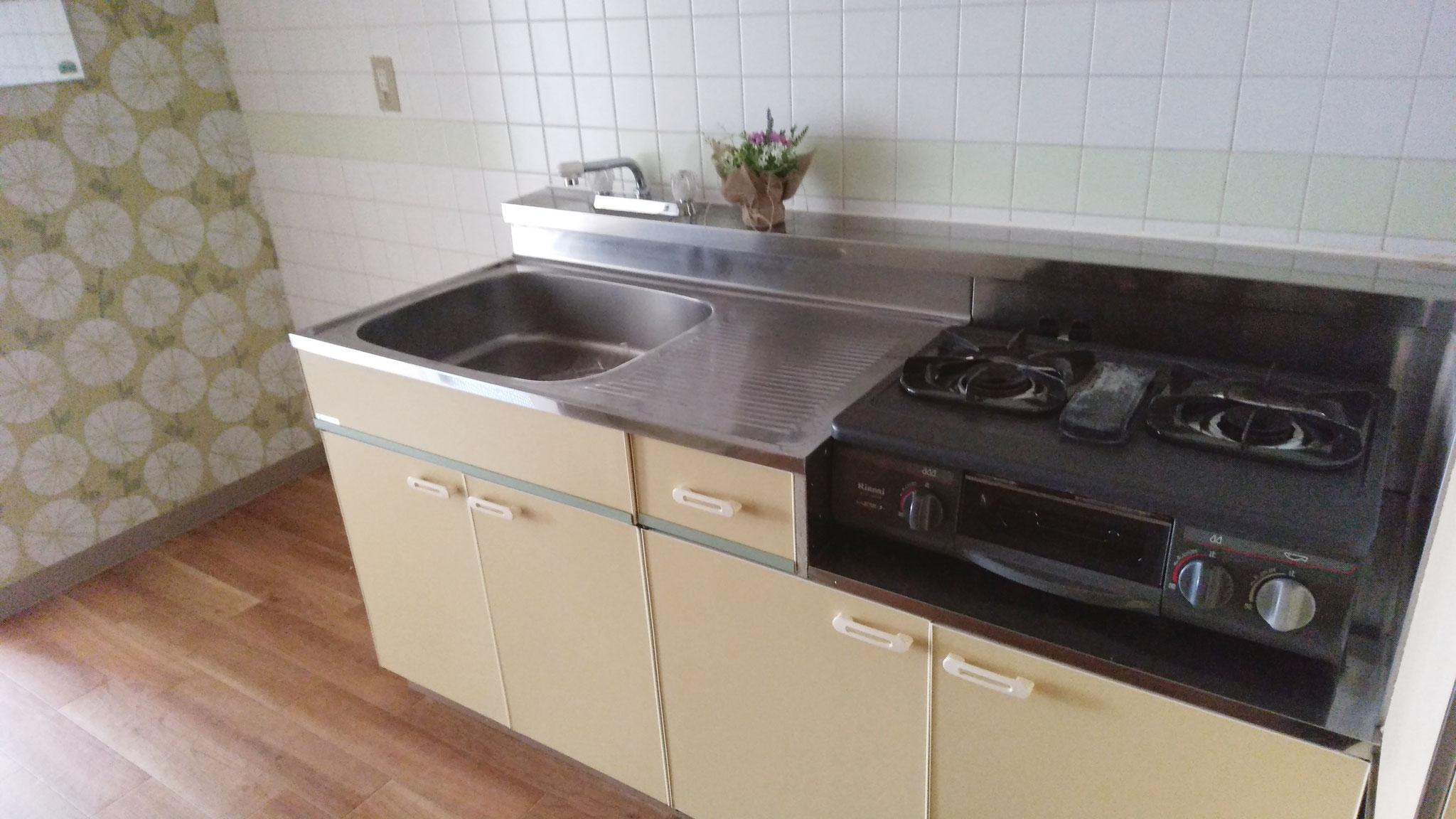 3帖の使いやすいキッチン