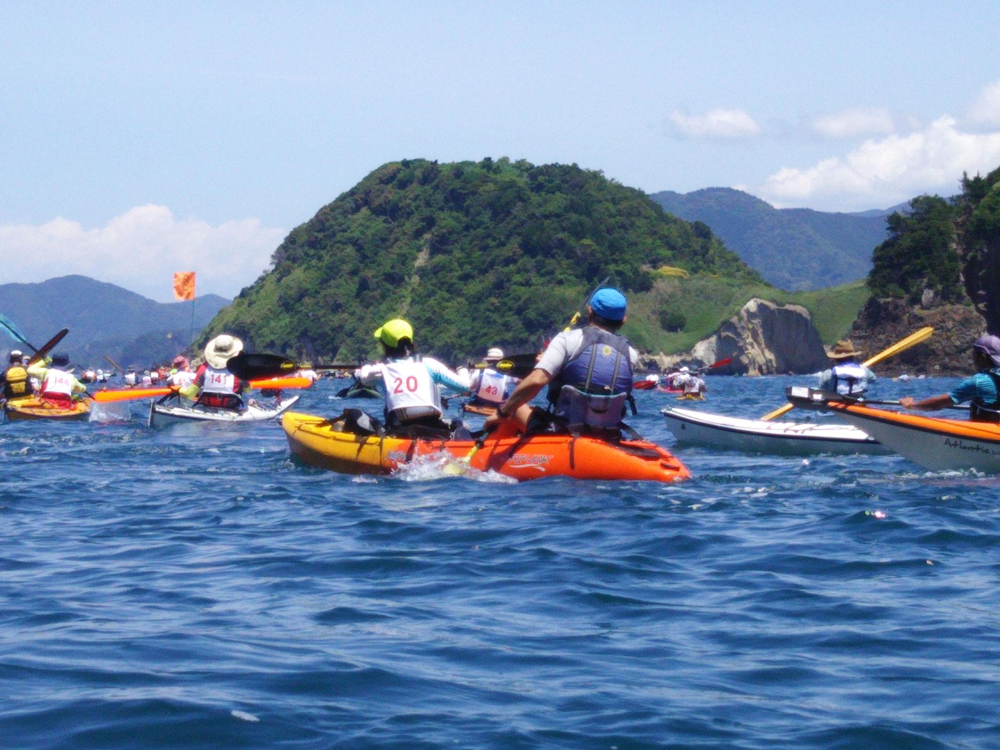 第19回伊豆松崎町シーカヤックマラソン「最高のカヤック日和!」
