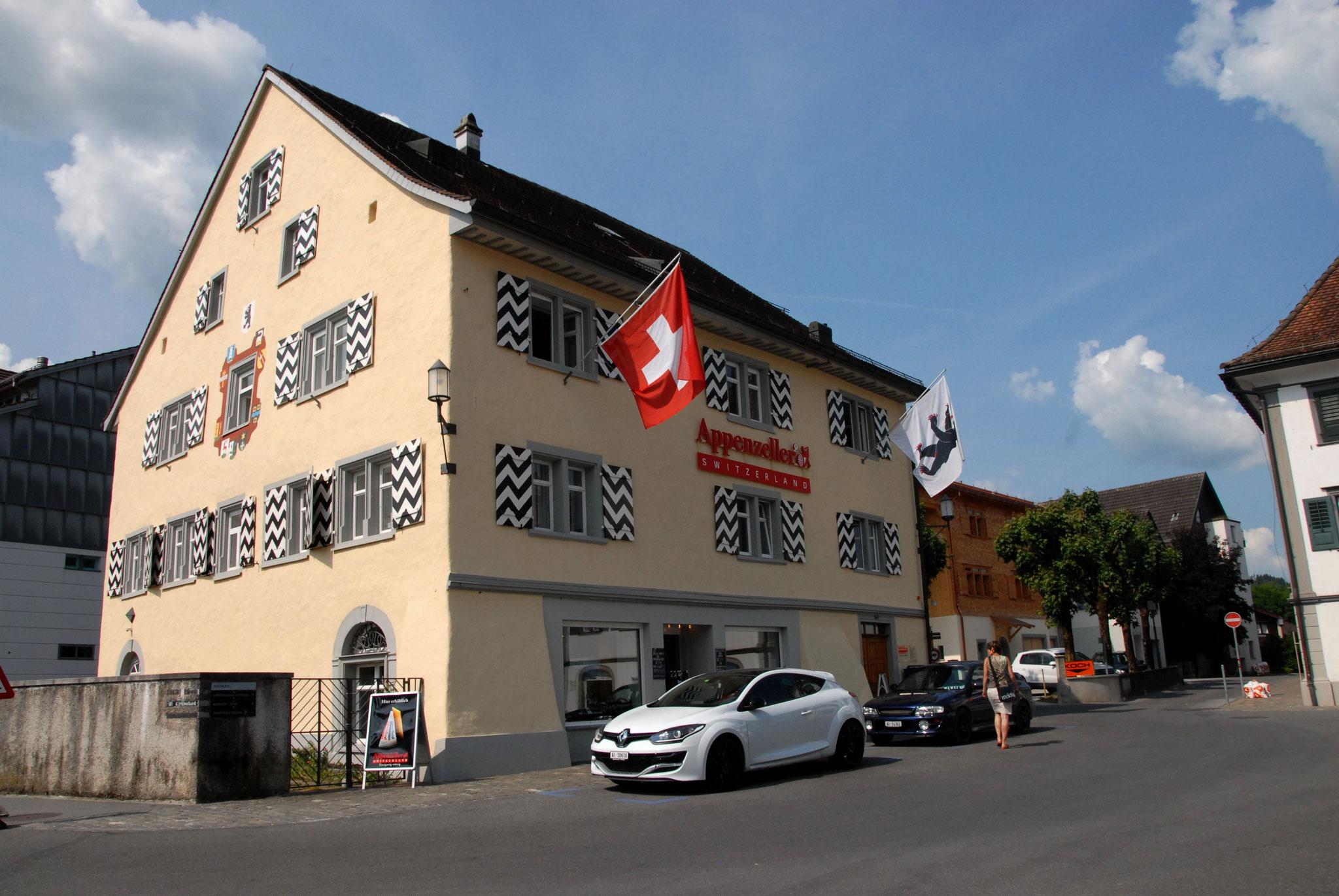 Stadtführung Appenzell Sennerei