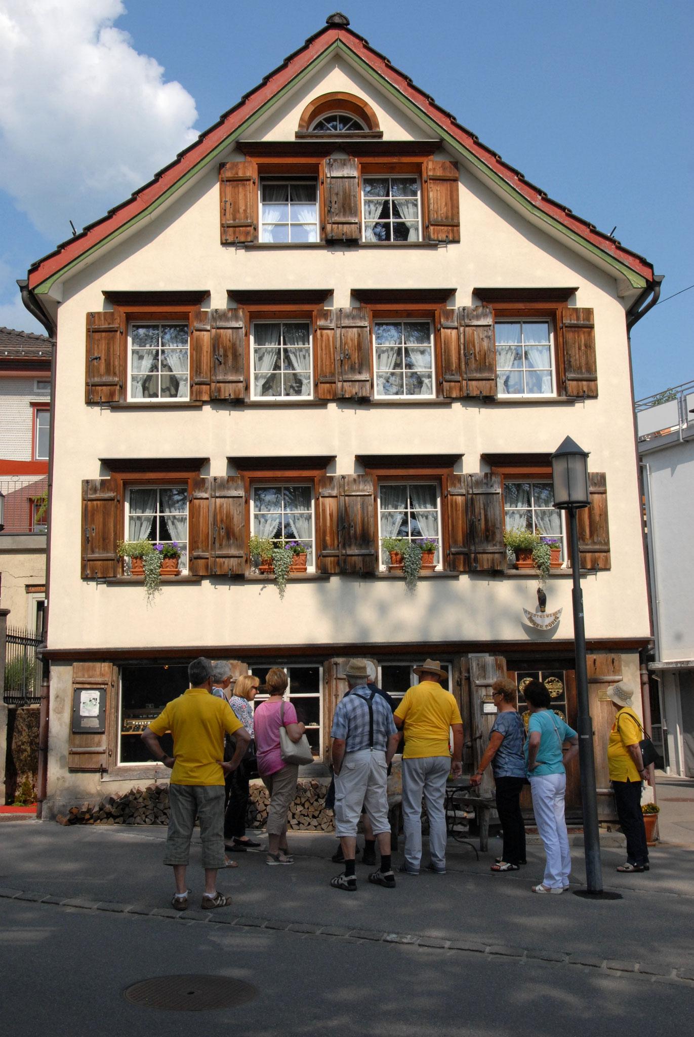 Stadtführung Appenzell Kunsthandwerk