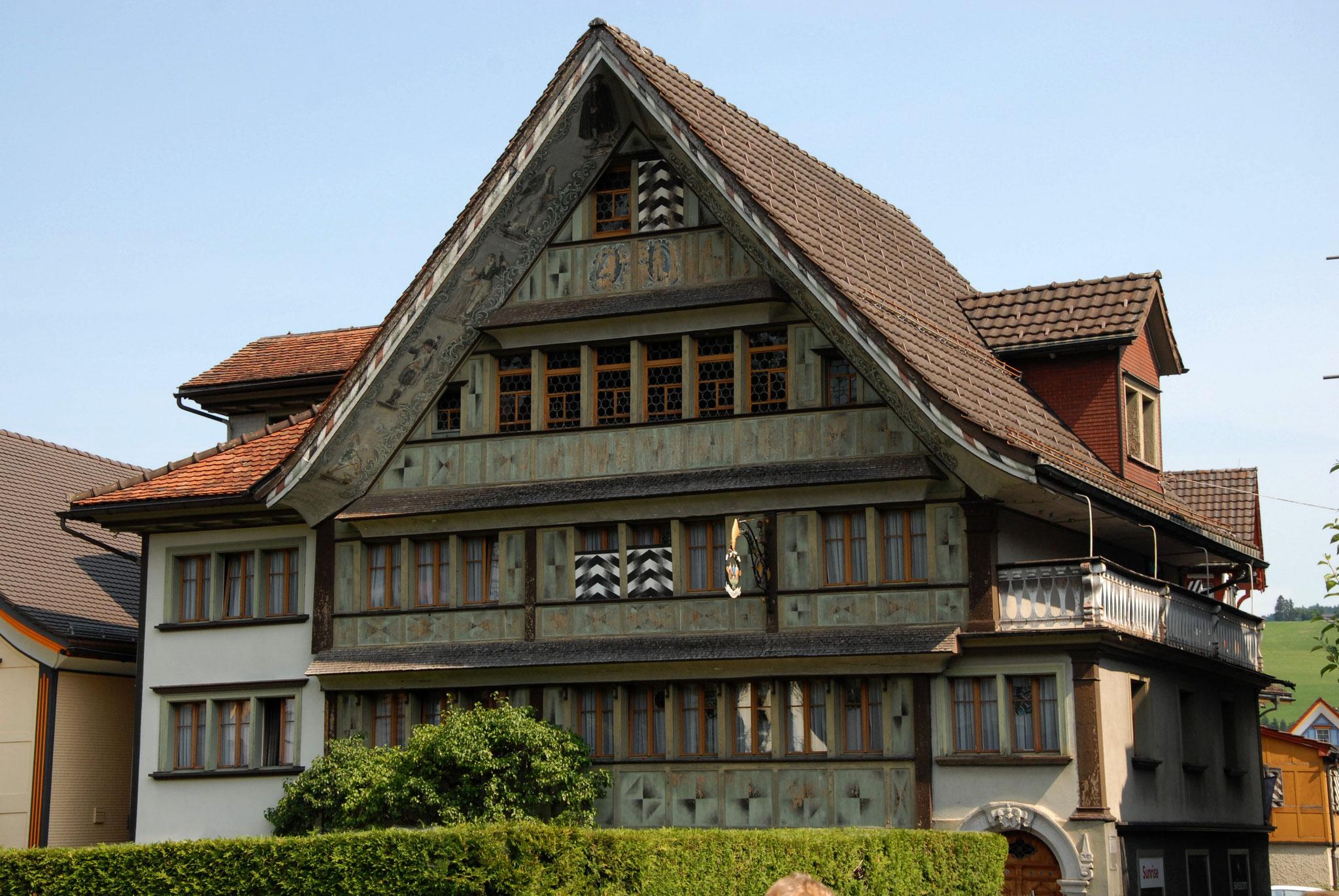 Stadtführung Appenzell Bischofbergerhaus Konkordia