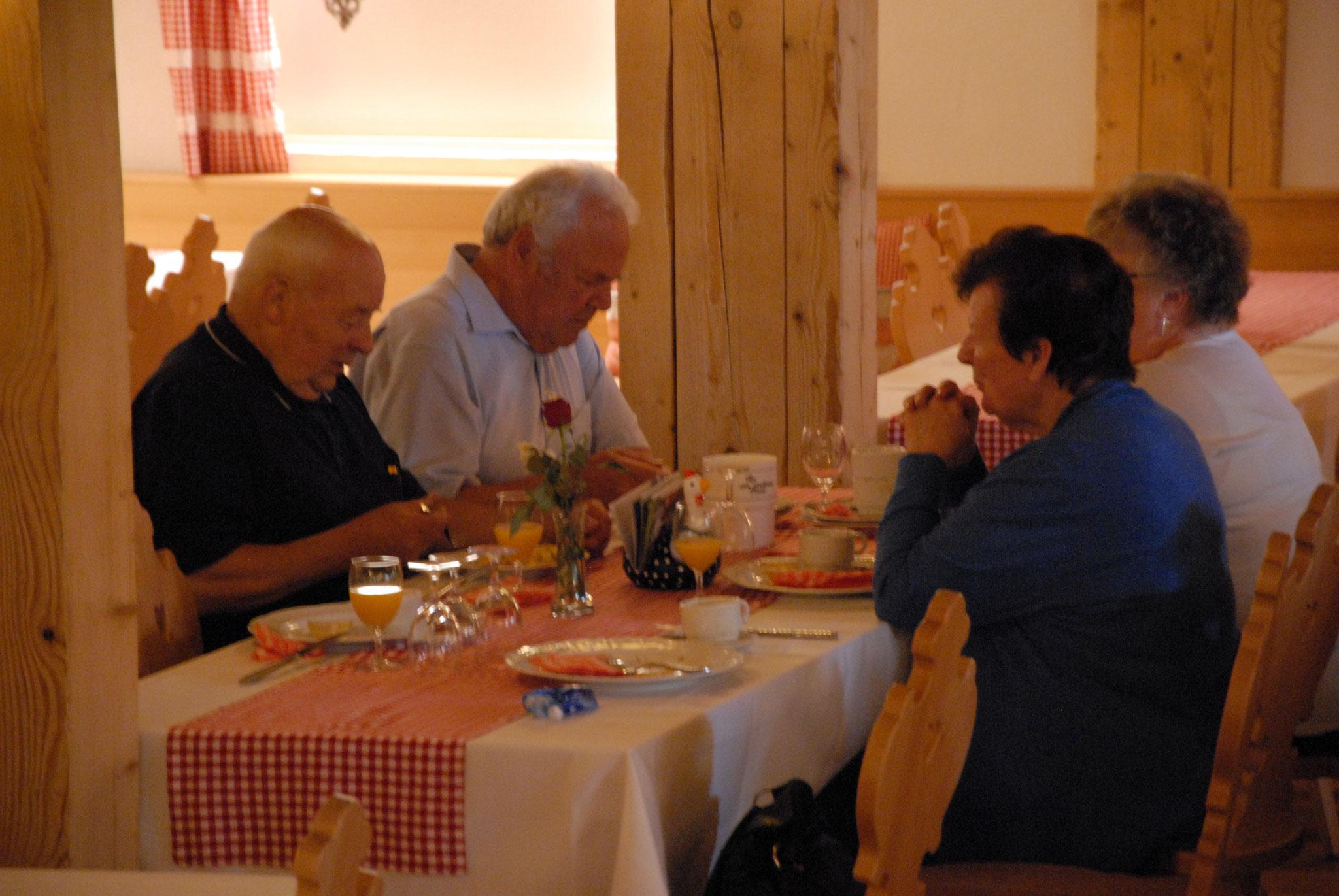Frühstück im Bangshof Ruggell