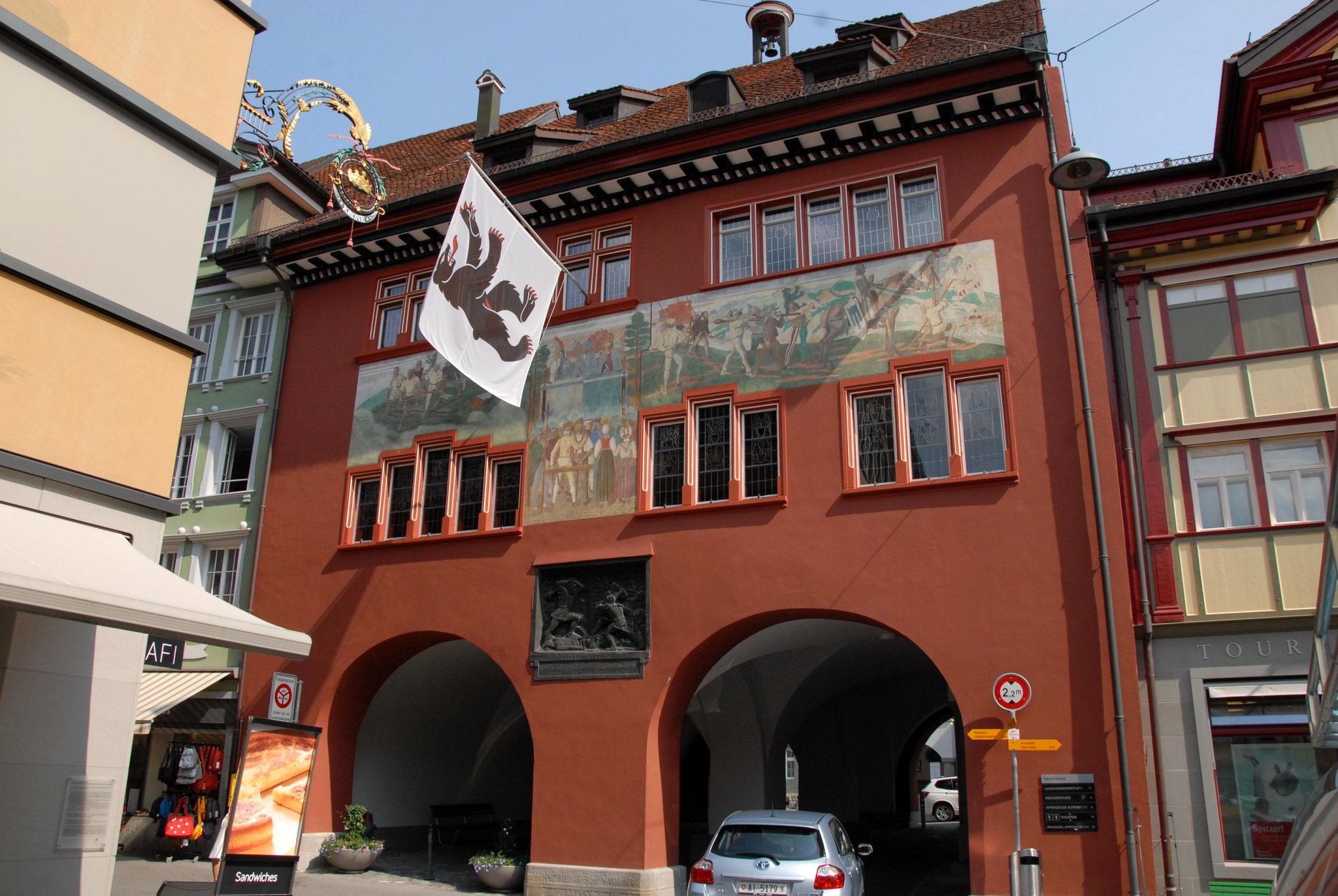 Stadtführung Appenzell das Rathaus