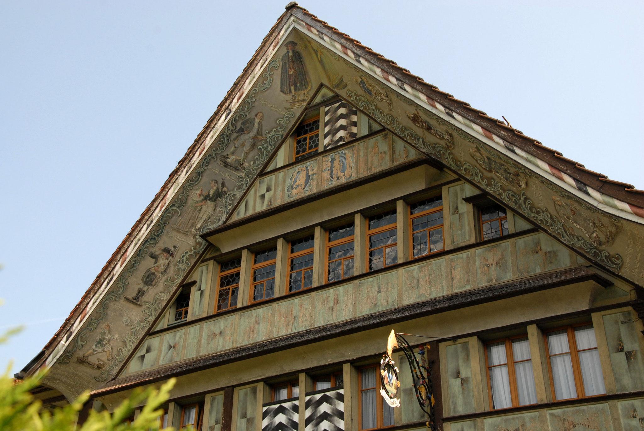 Stadtführung Appenzell Bischoffbergerhaus Konkordia