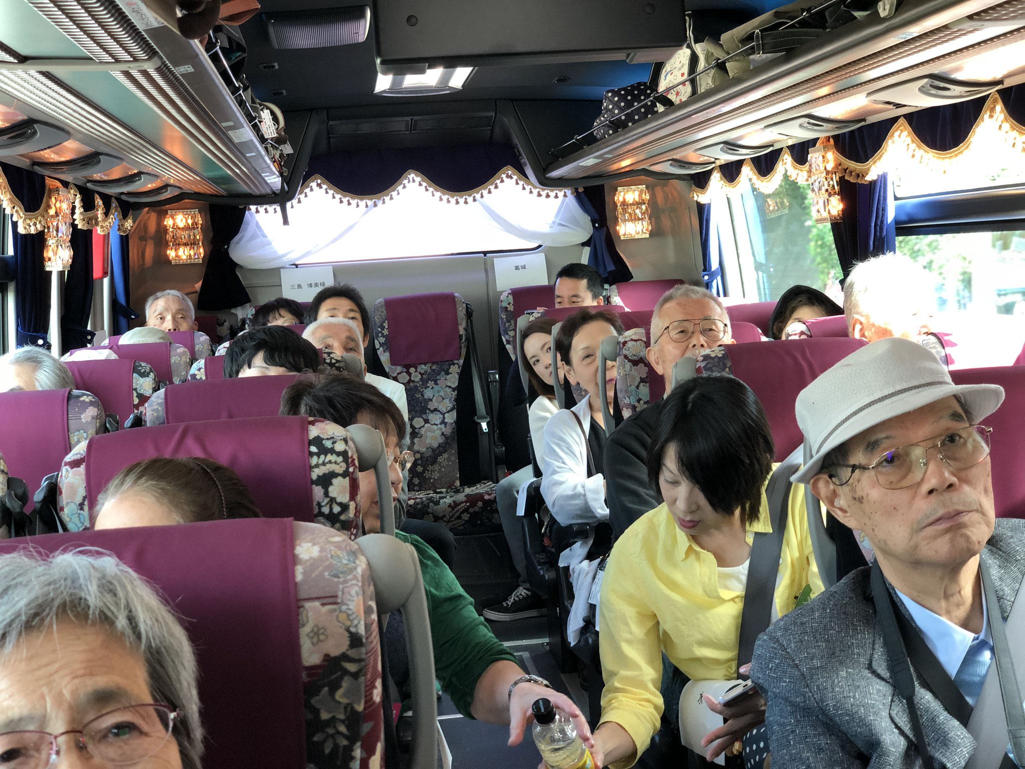 バス旅行は楽しい!