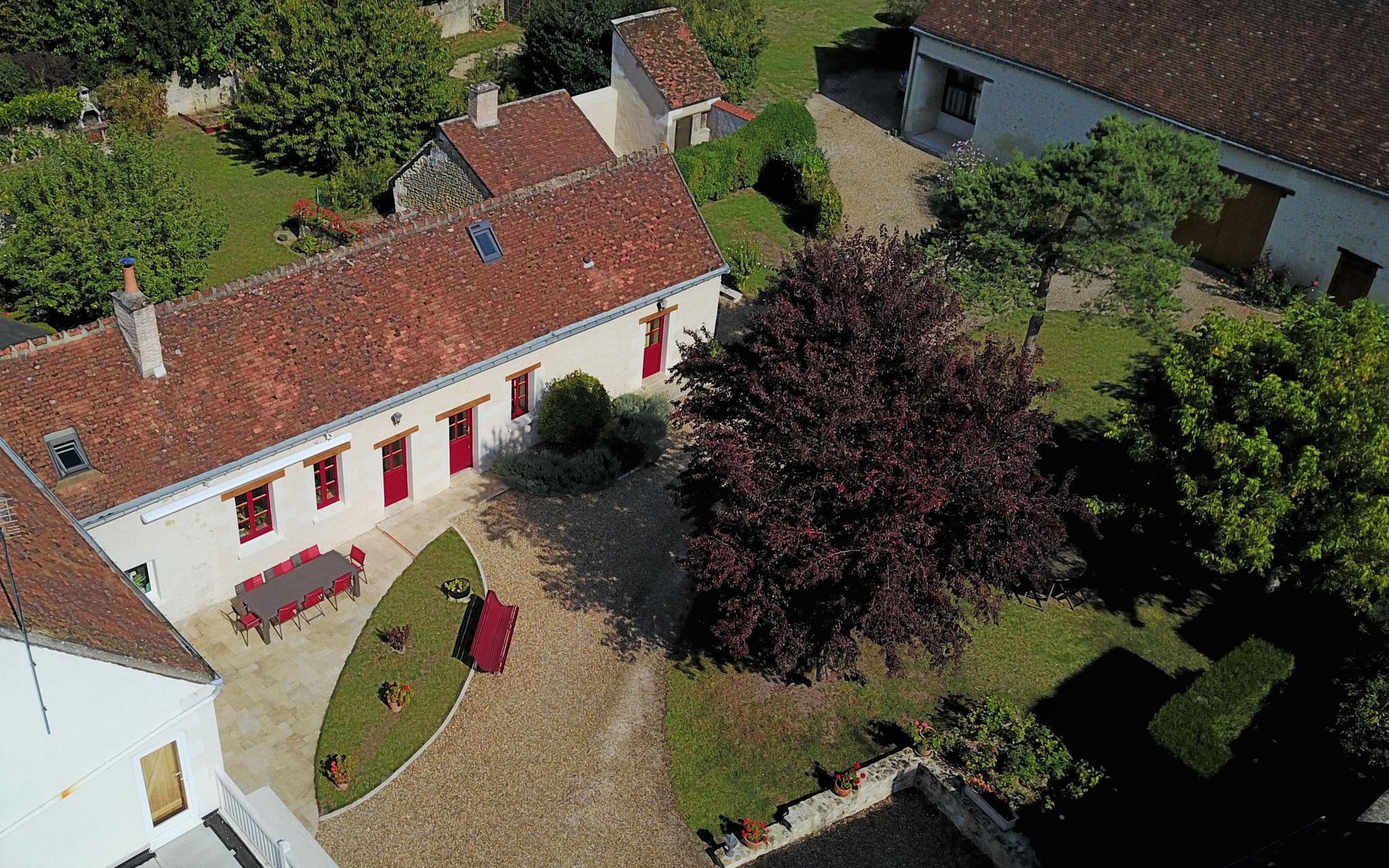 Chambres d h´tes et G te Rural Chenonceau La Haute Traversiere