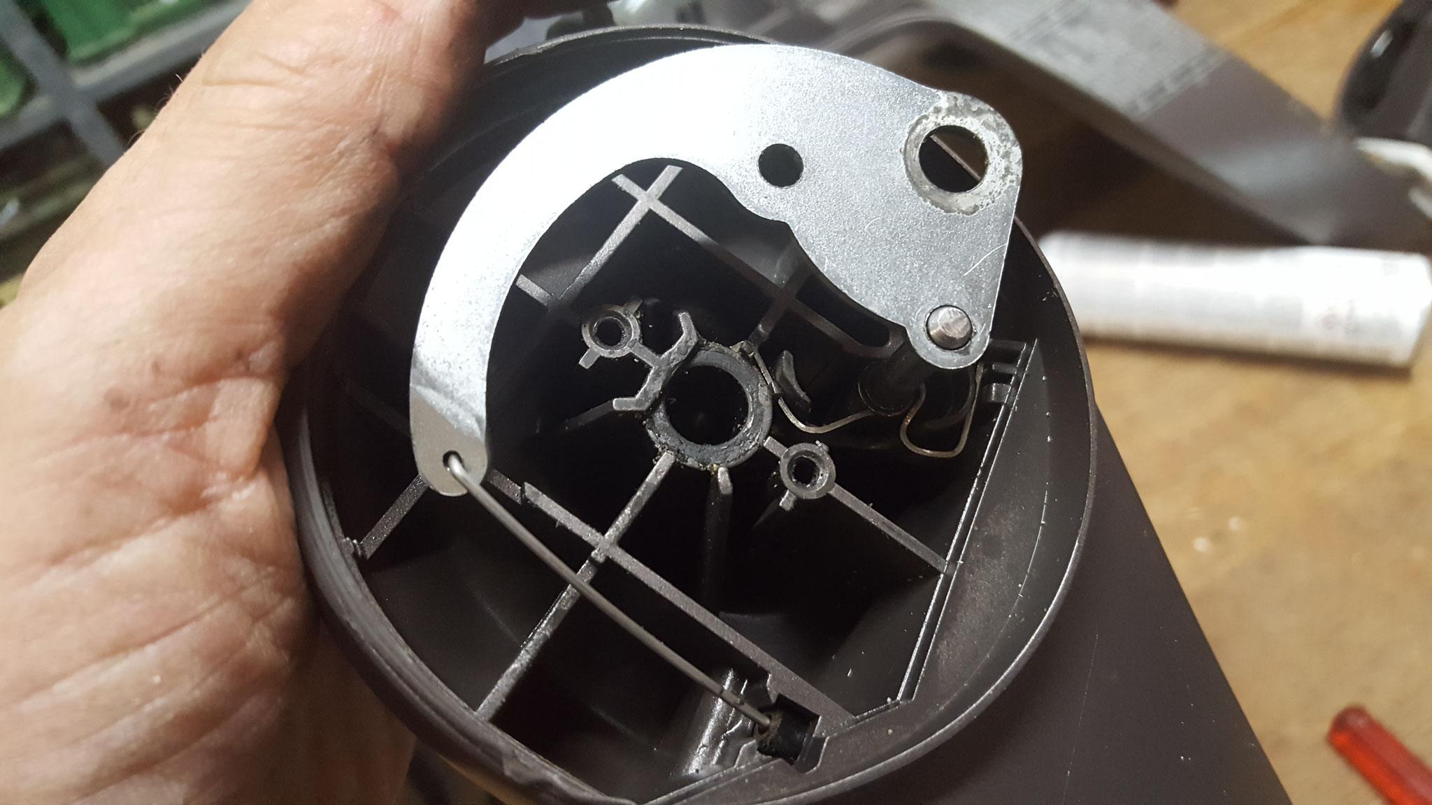 Die Bremstrommel des Stokke Xplory