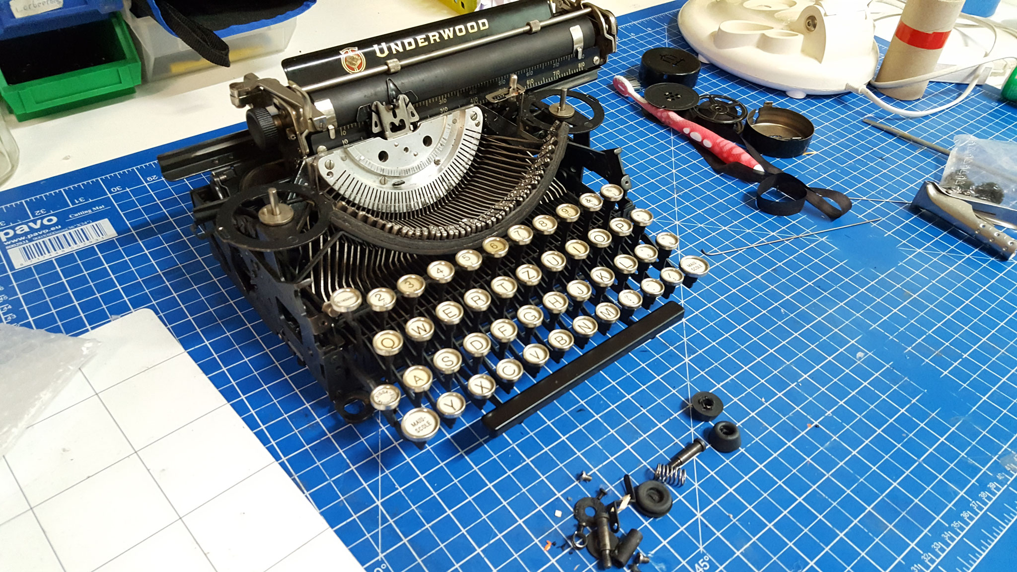 Underwood portable repariert