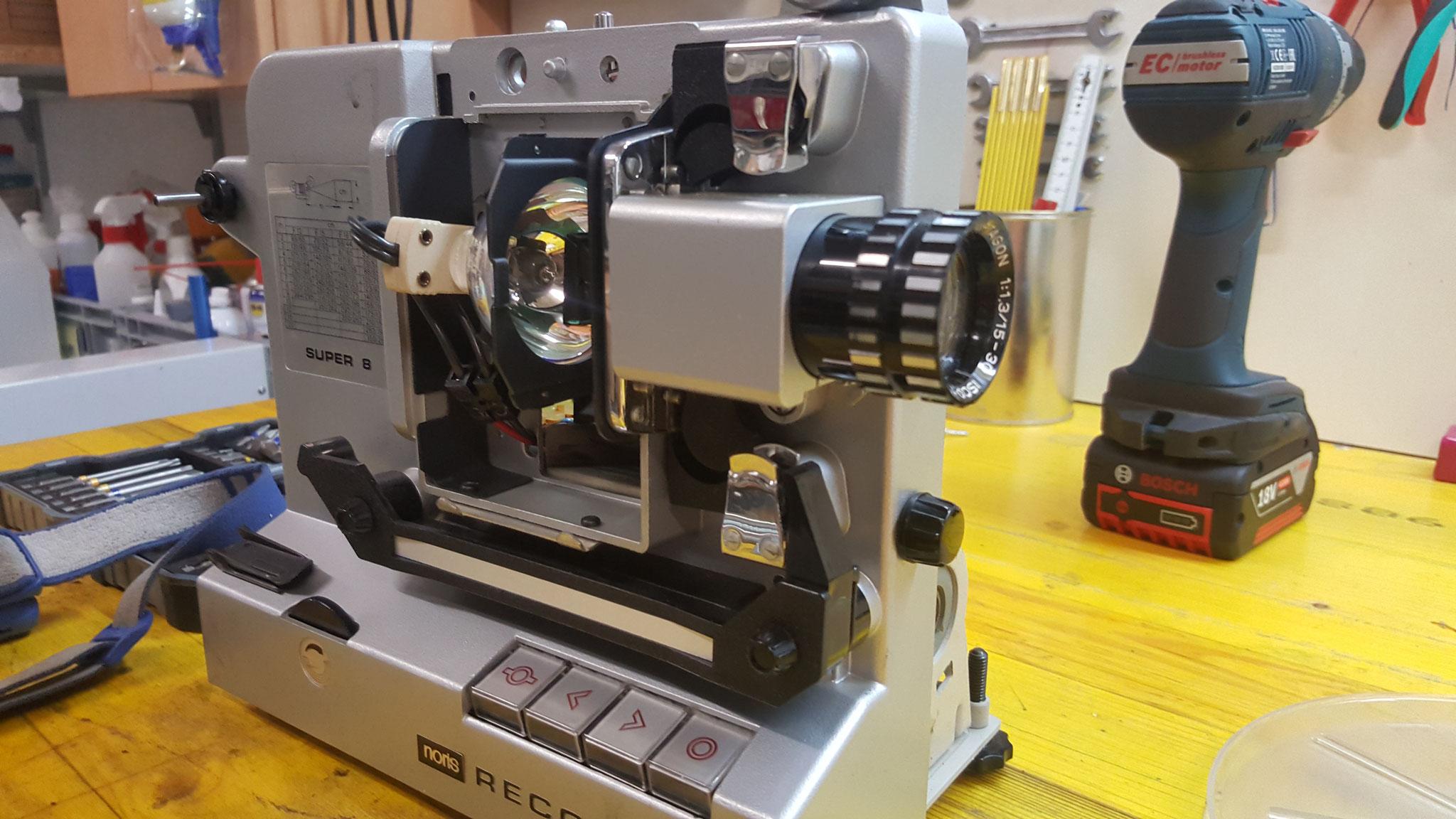 Super8 Projektor überholen