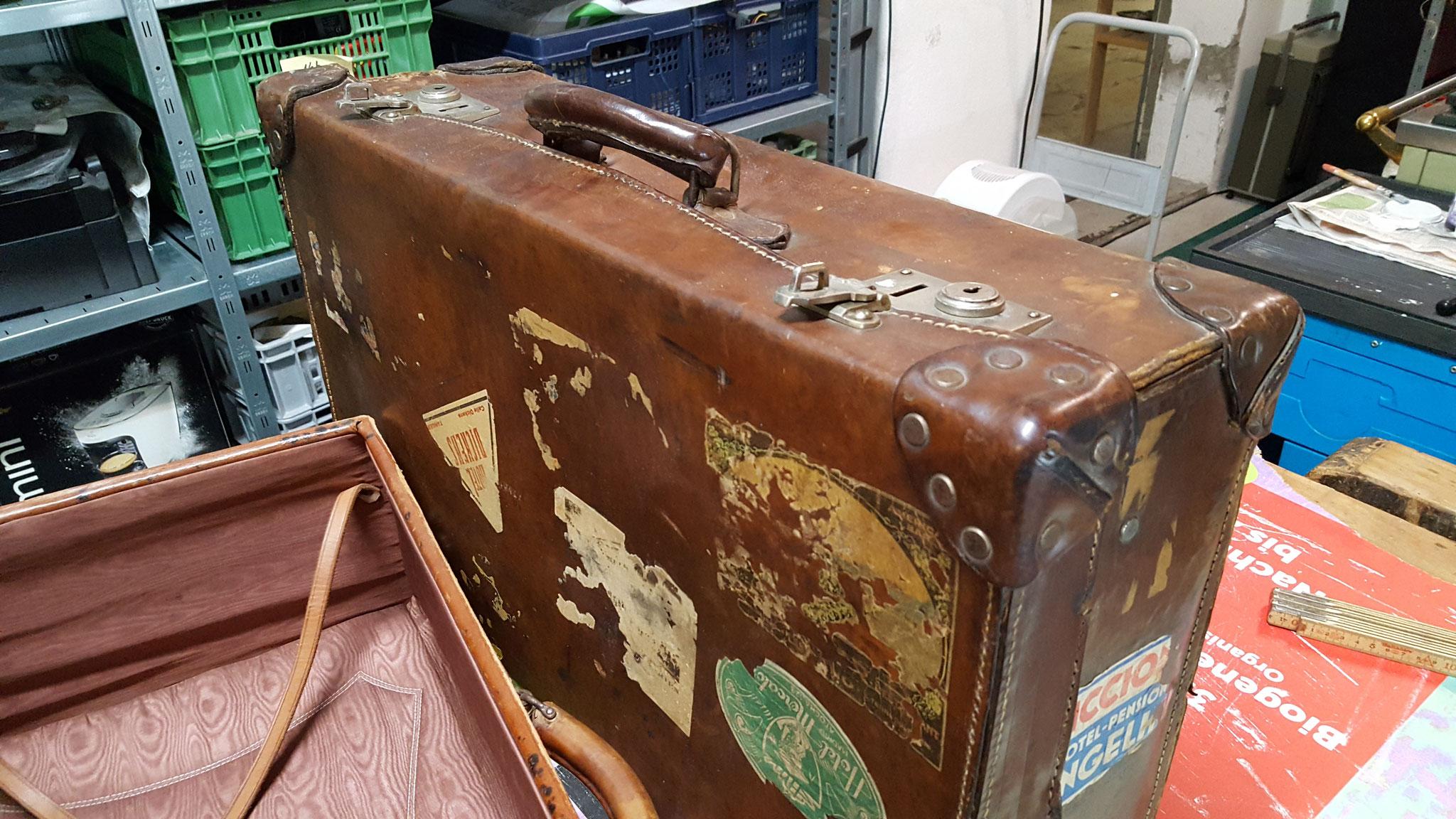 Jeder Koffer ein Unikat