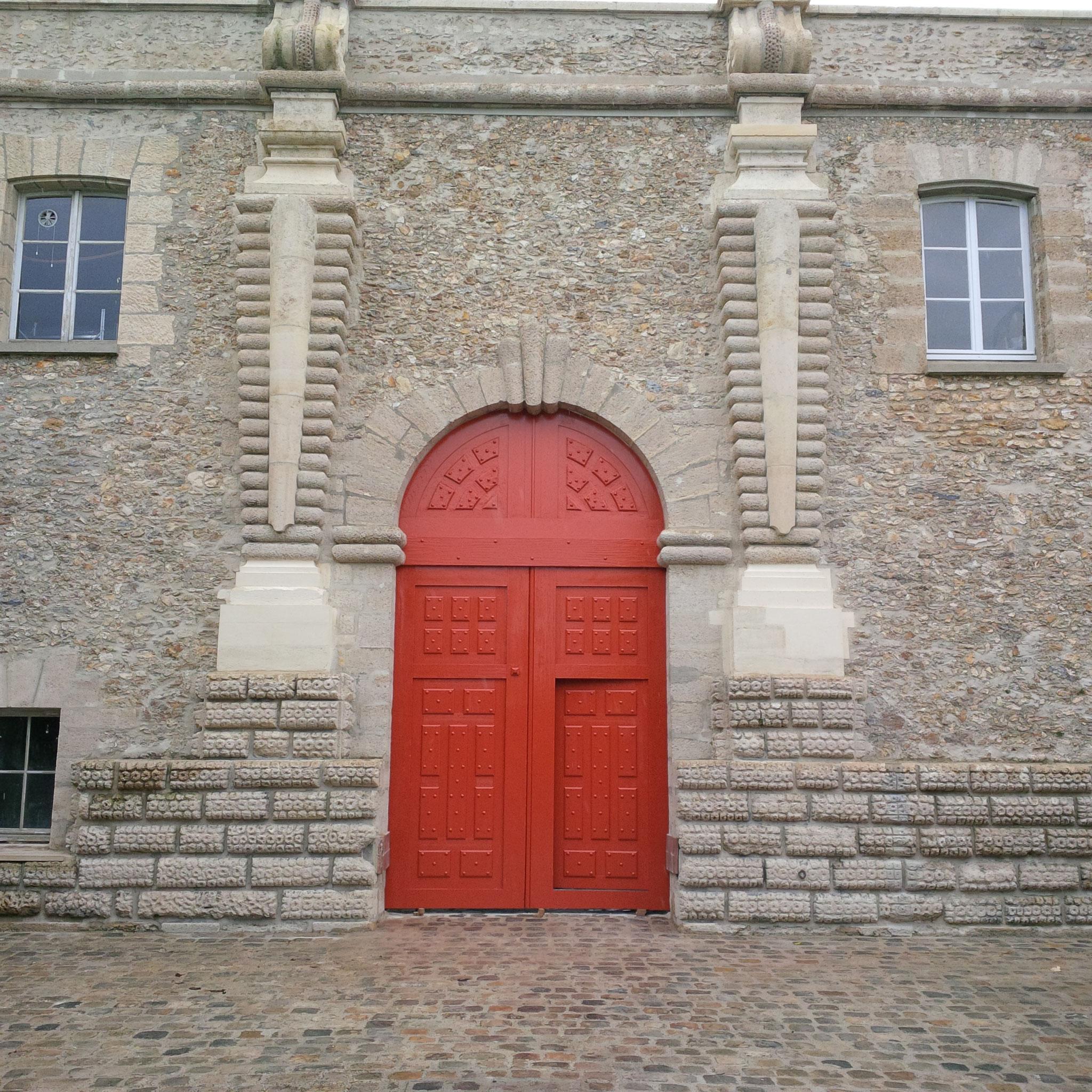 Restauration du portail de l'Observatoire de Paris à Meudon
