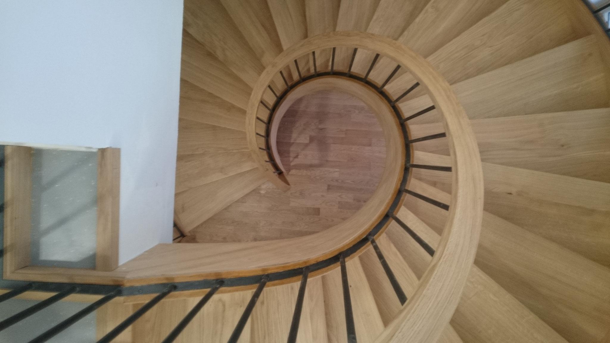 Escalier de secours - Hôtel de Ville de GONESSE