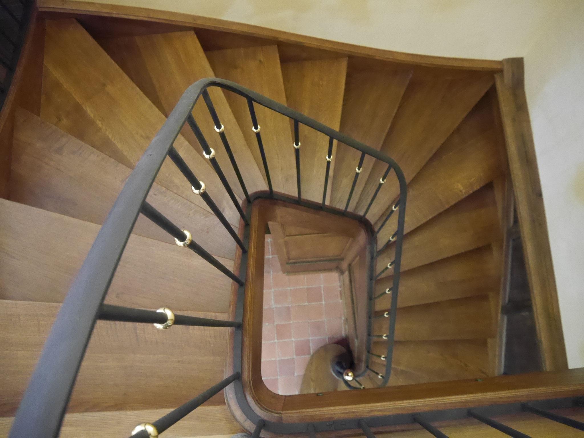 Escalier d'accès aux tribunes - Clichy sous bois