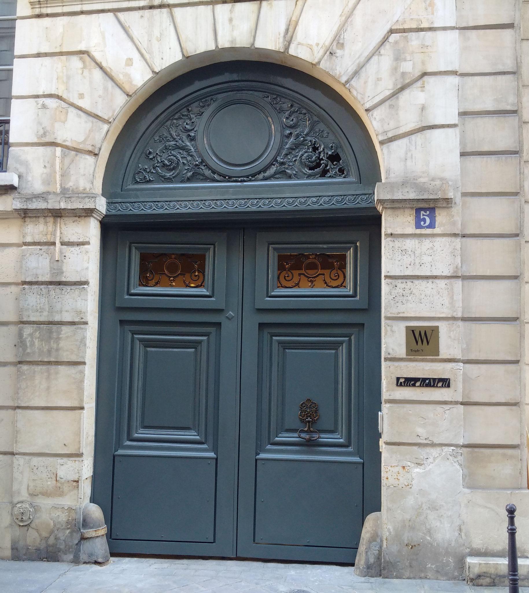 Restauration d'une porte cochère à PARIS