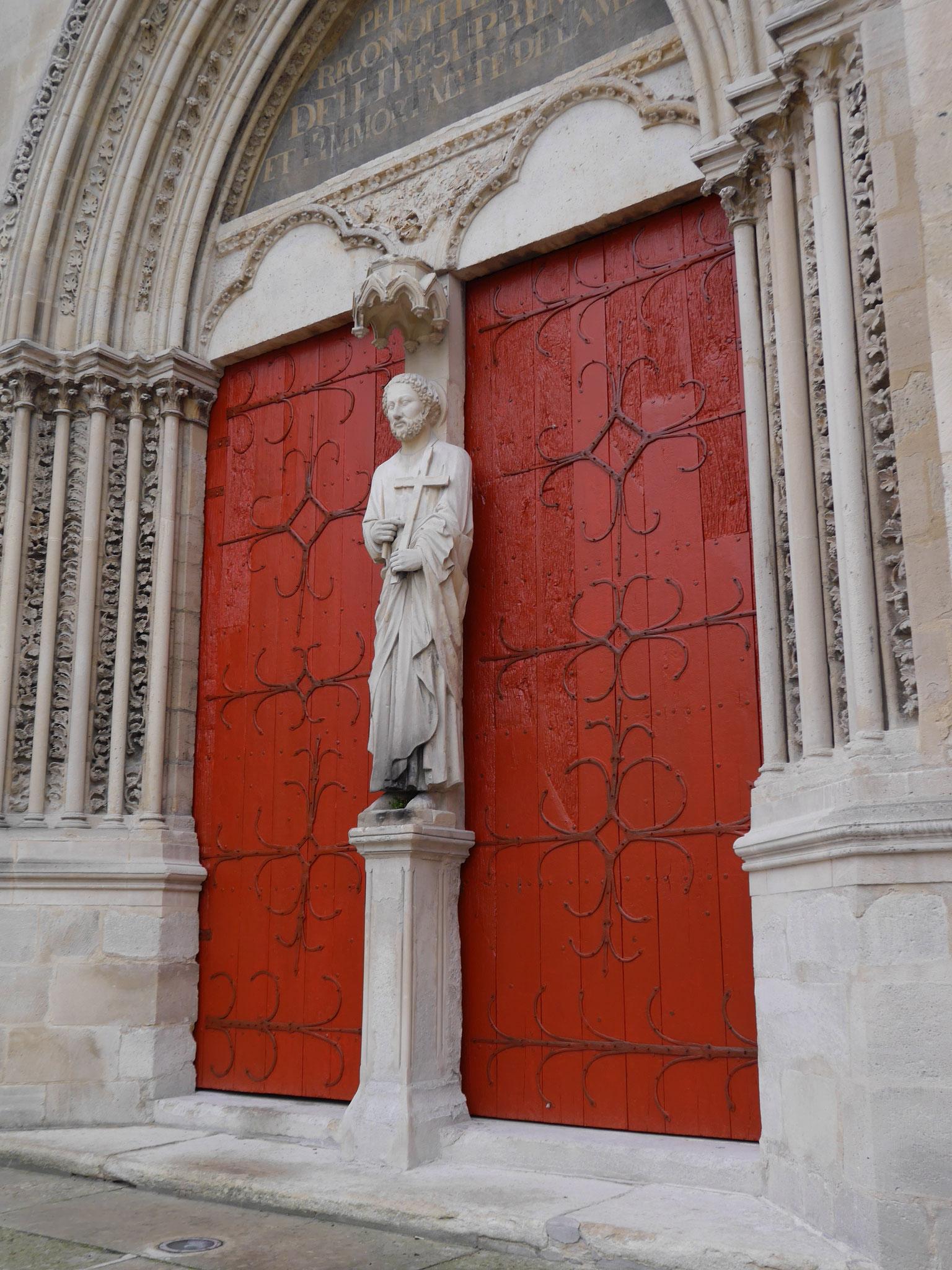 Restauration de portail - Eglise de GONESSE