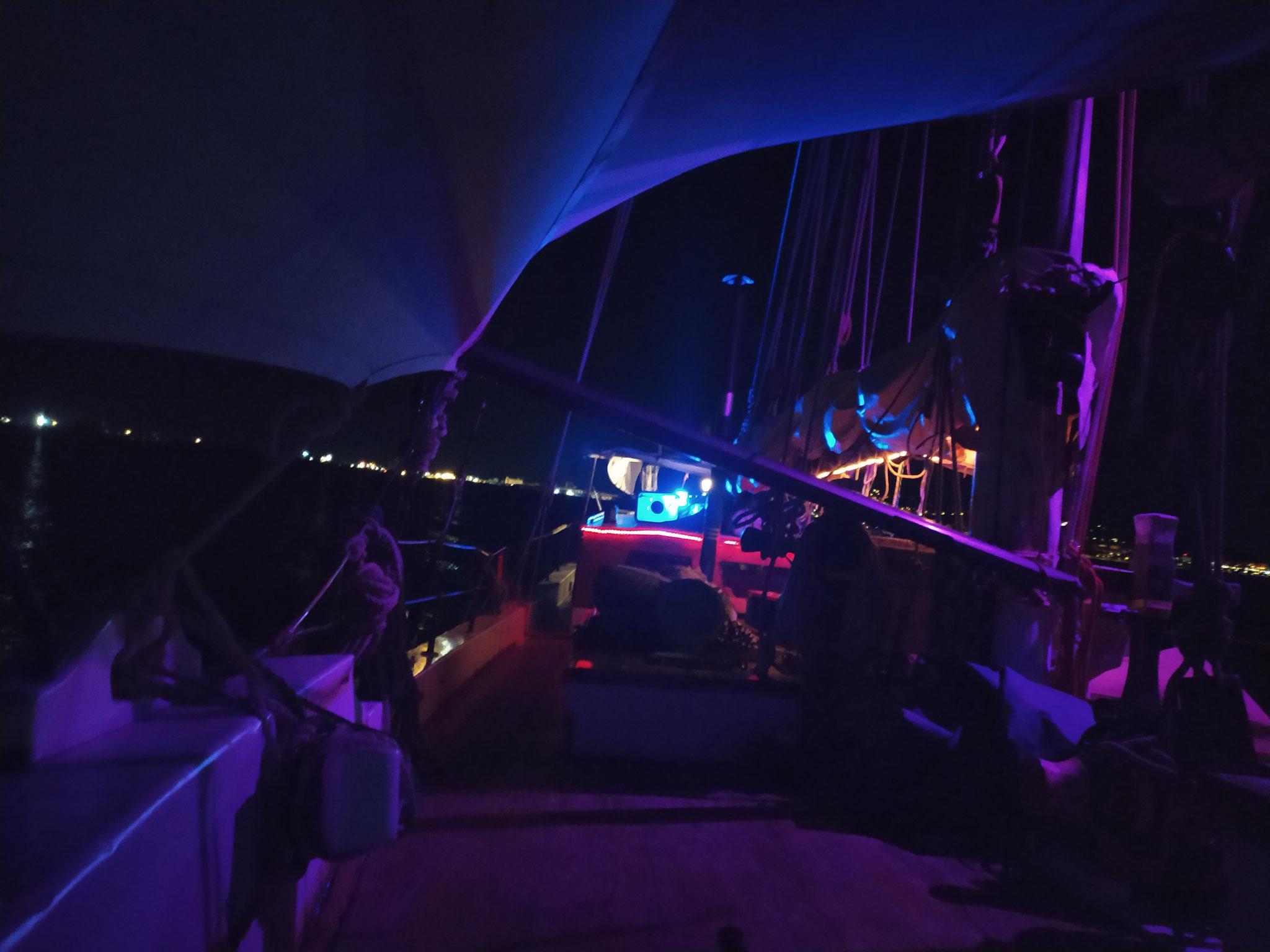 soirée à bord