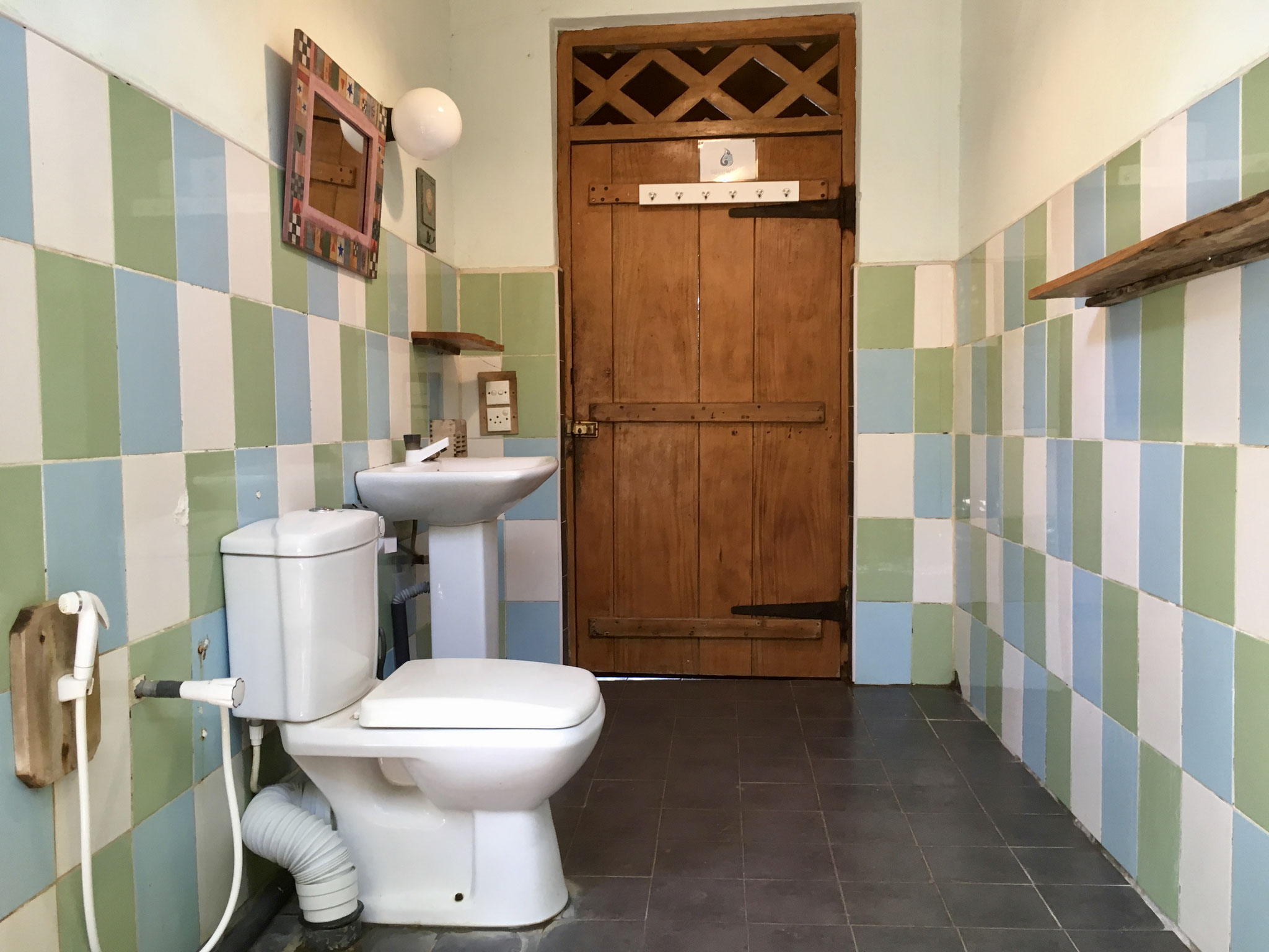 Room 1/ Shared Bathroom