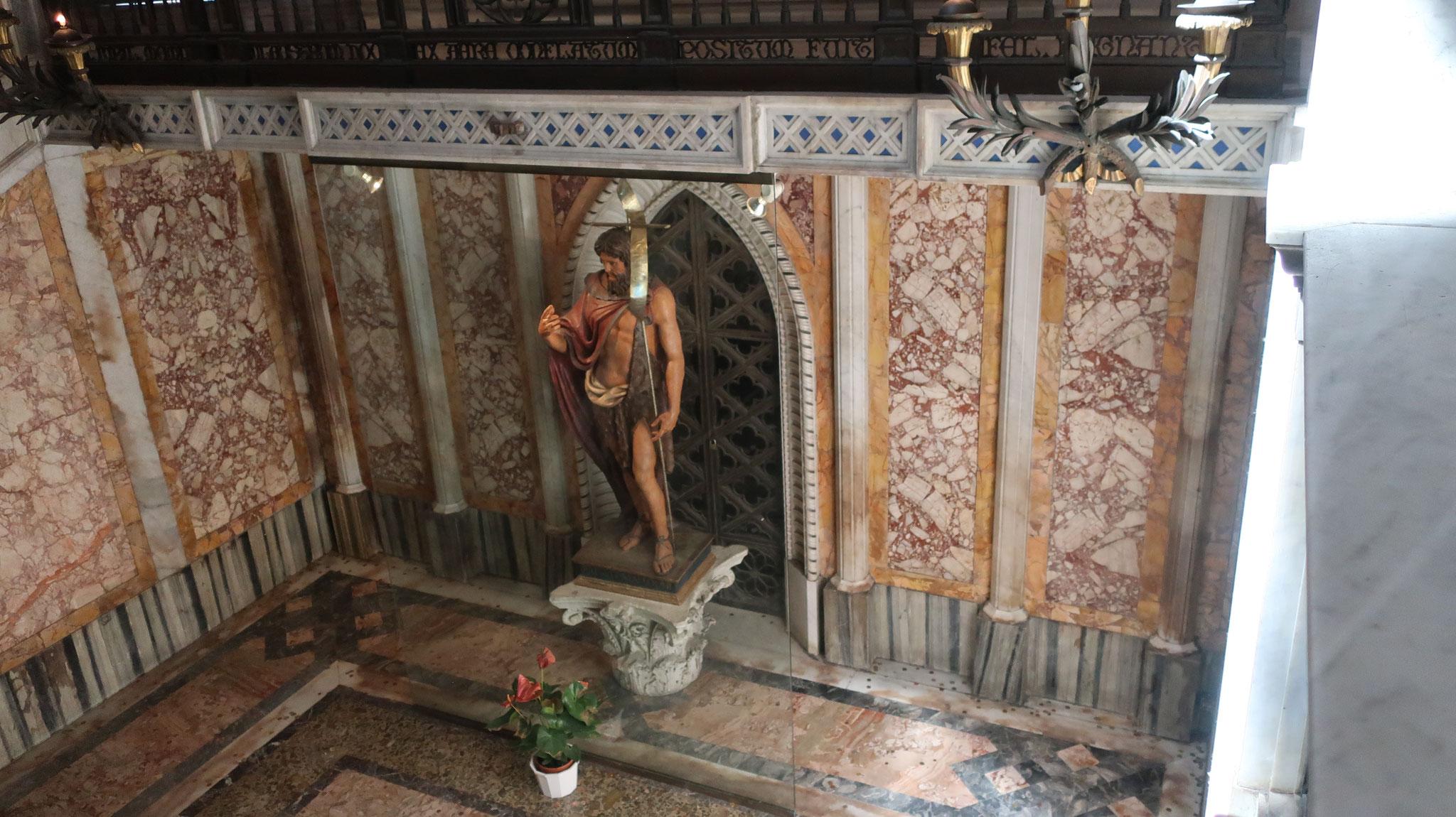 洗礼者ヨハネ 。イエス・キリストにヨルダン川で洗礼を授けました。後に、ヘロデ王に殺されました。