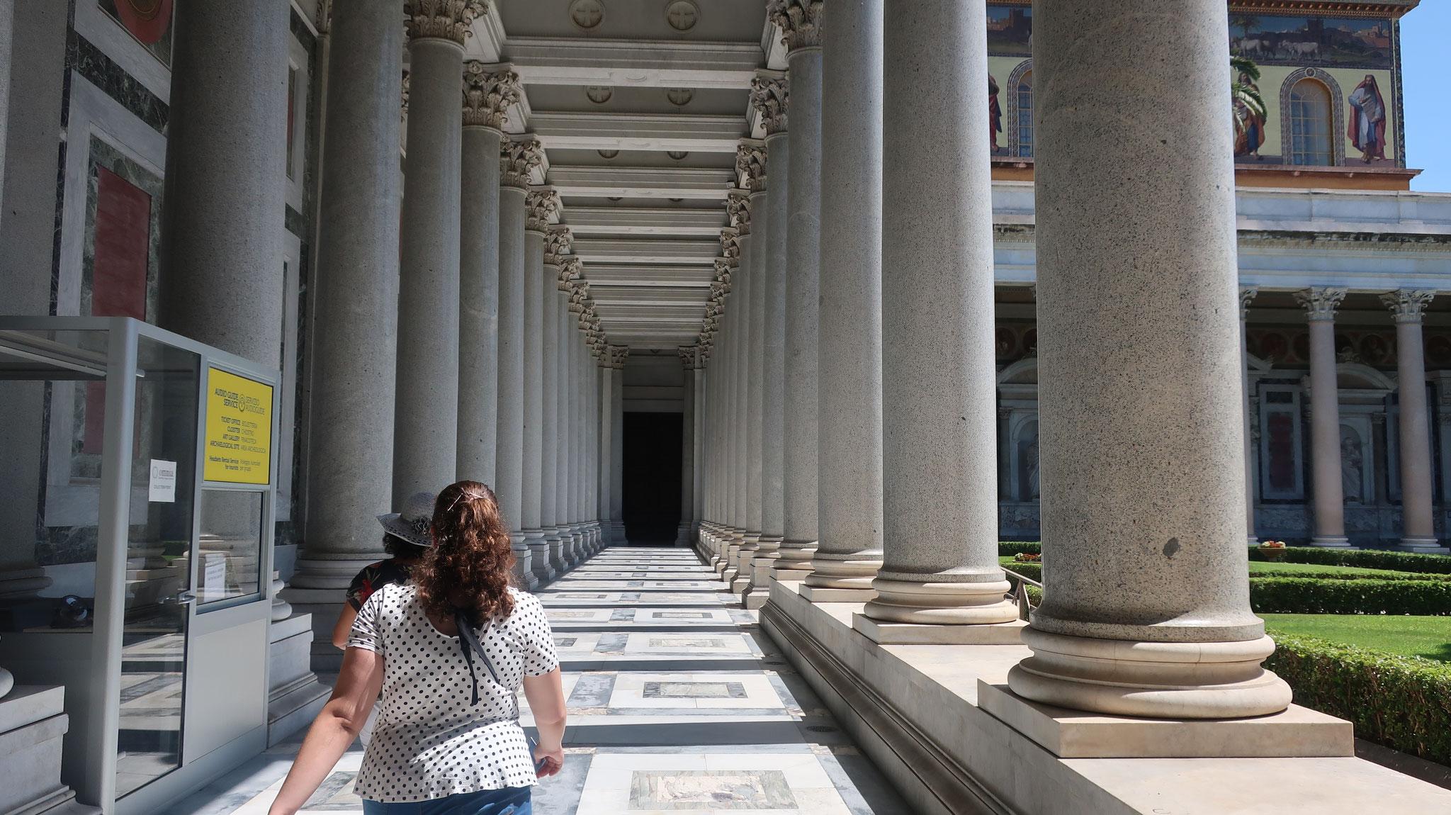 ローマで最も美しい回廊