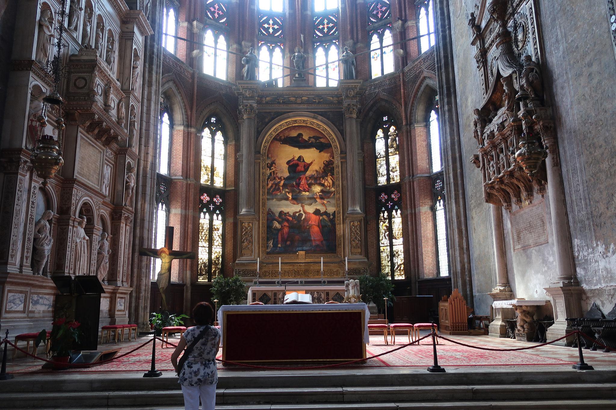 「聖母被昇天Assunta」 ティツィアーノの代表作