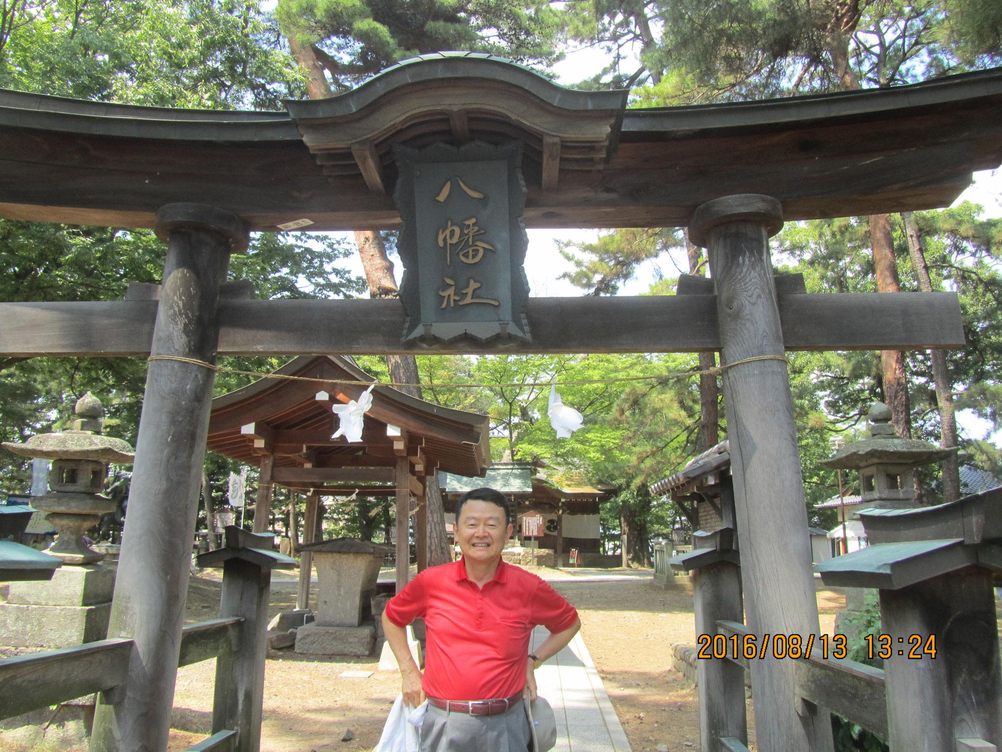 川中島八幡社。