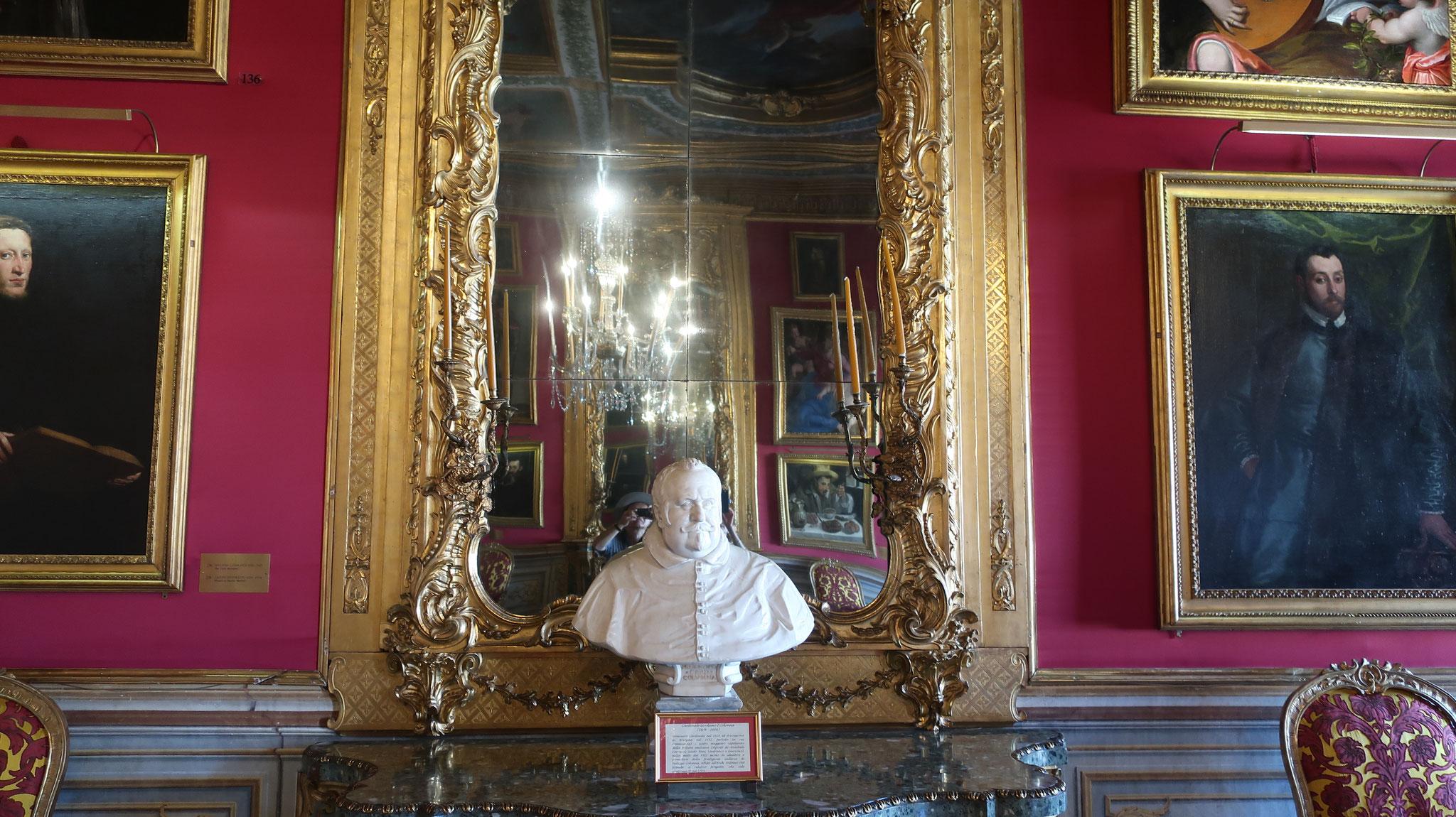 カルディナーレ・ジロラモ・コロンナ1世の胸像