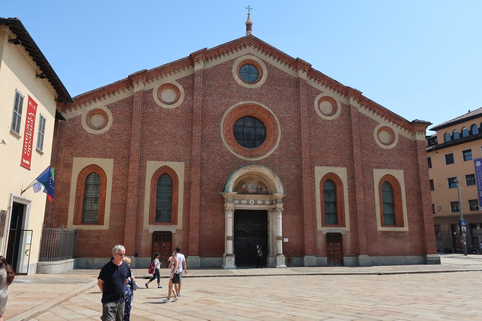 サンタ・マリア・デッレ・グラツィエ教会。