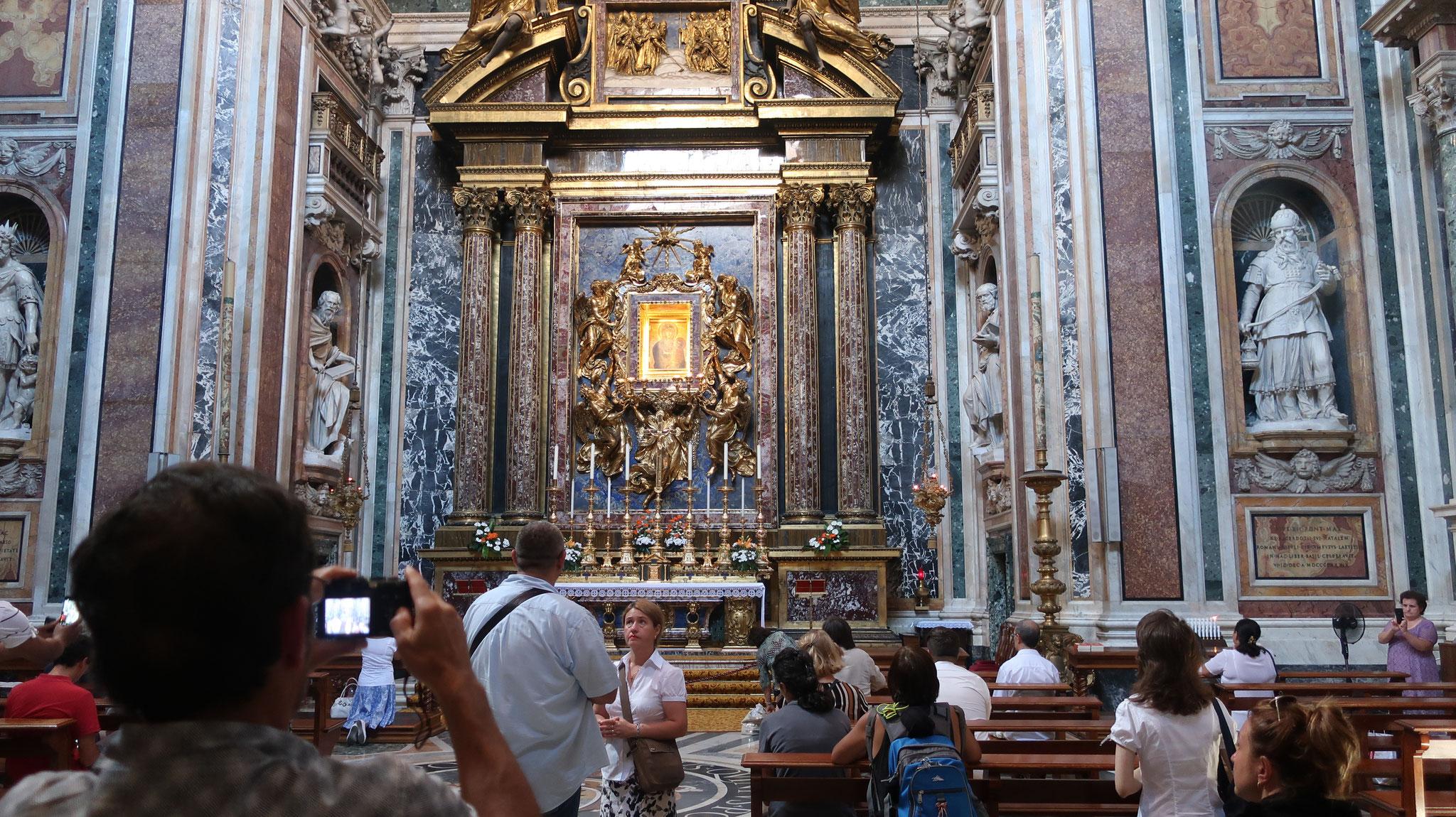 パオリーナの礼拝堂。17世紀。