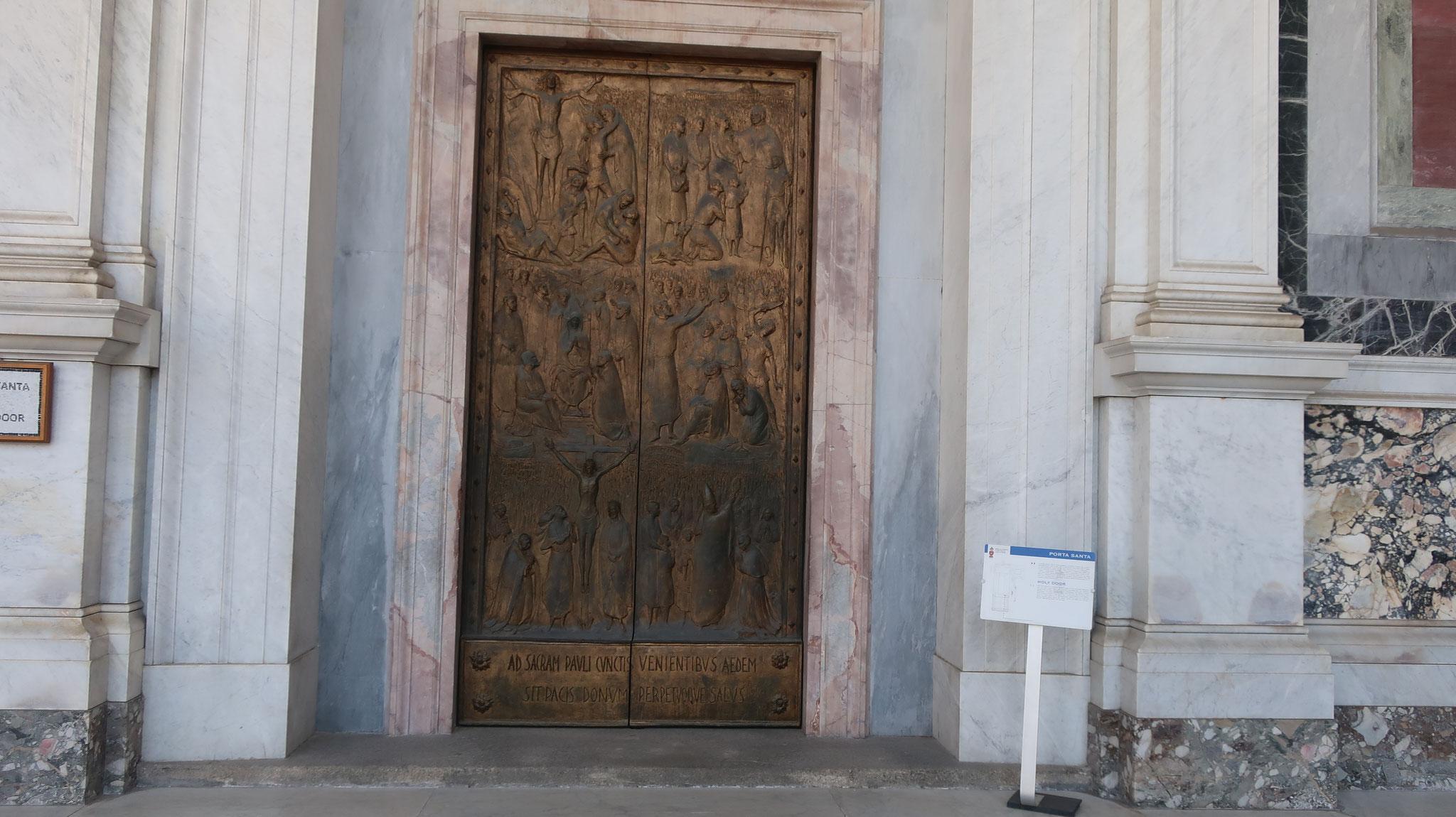 コンスタンティノープルで造られた聖堂の扉「聖なる扉」