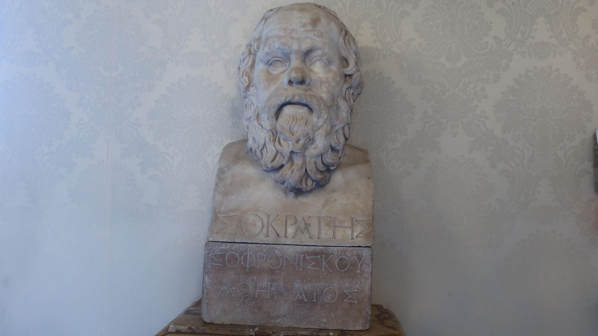 医学の父ヒッポクラテス像