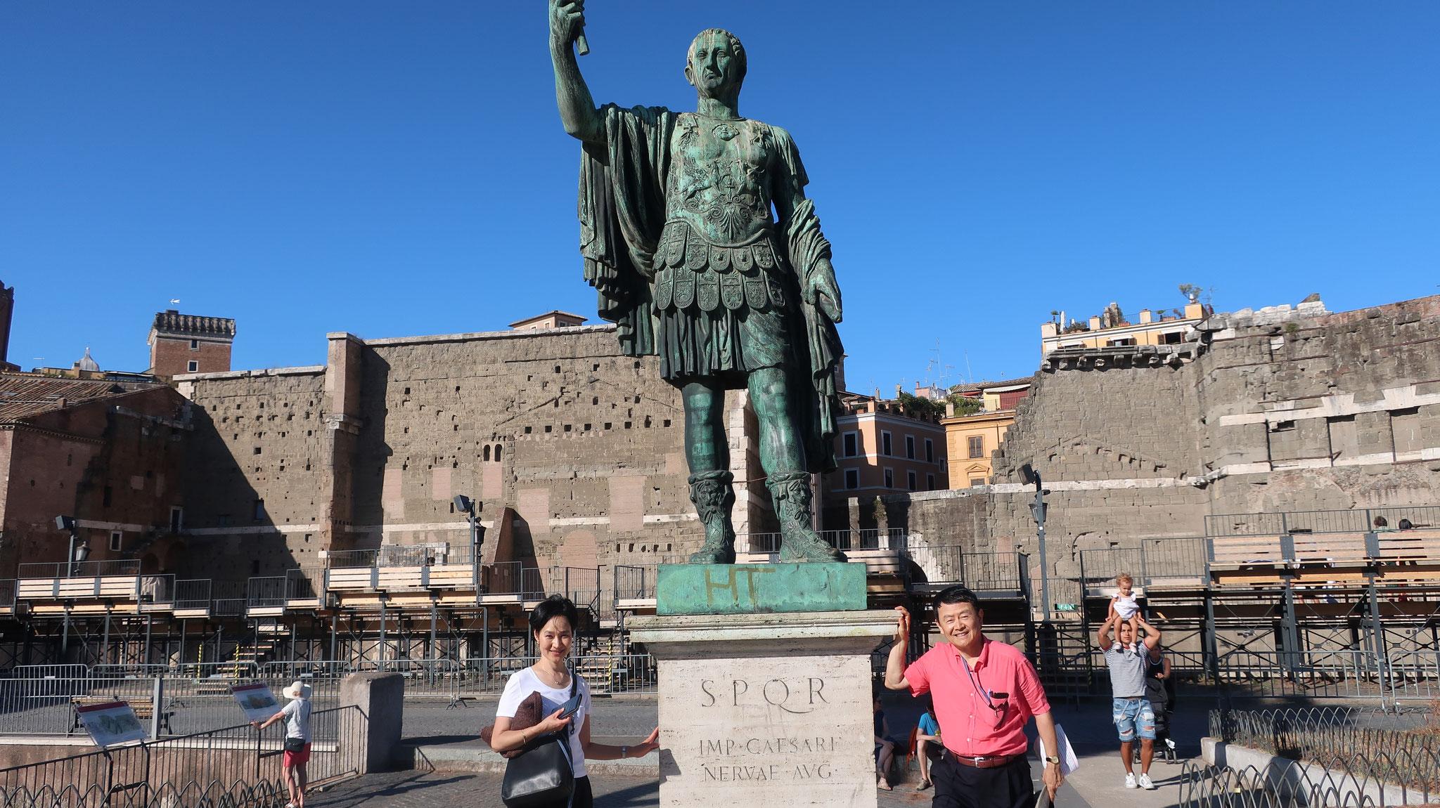 ネルヴァ帝の公共広場