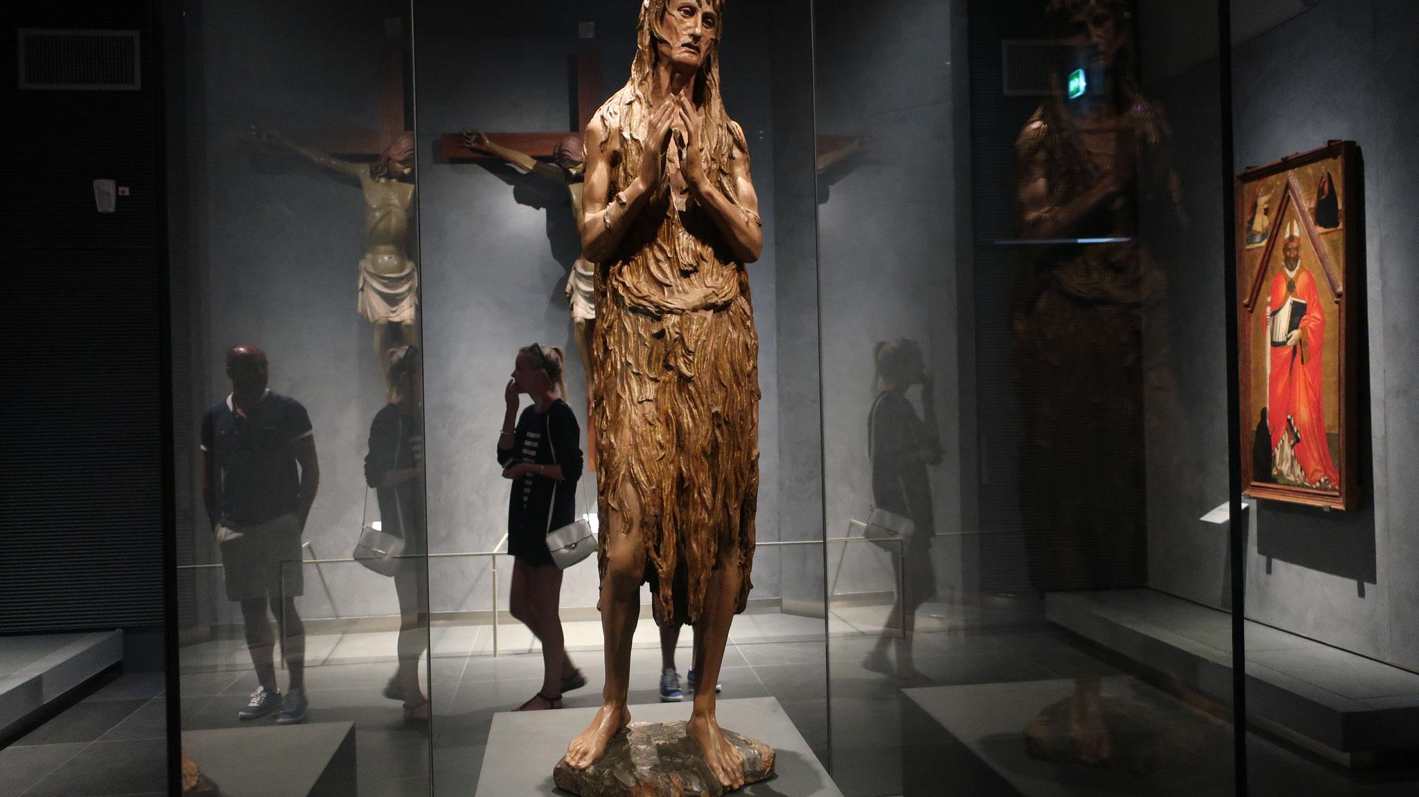 マグダラのマリア。ドナテッロ作。イエスの母「マリア」とは別人。
