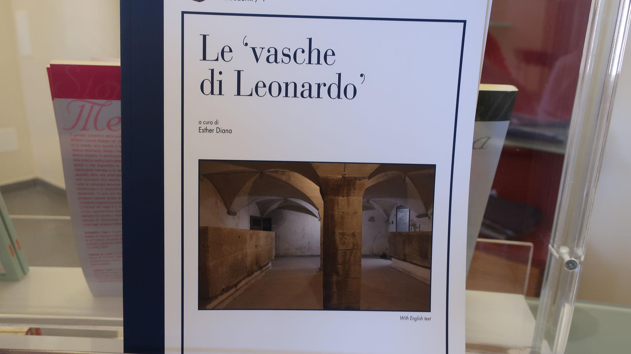 病院の地下には、16世紀、レオナルド・ダ・ヴィンチが遺体を洗った浴槽と、解剖を行った部屋が残っています。