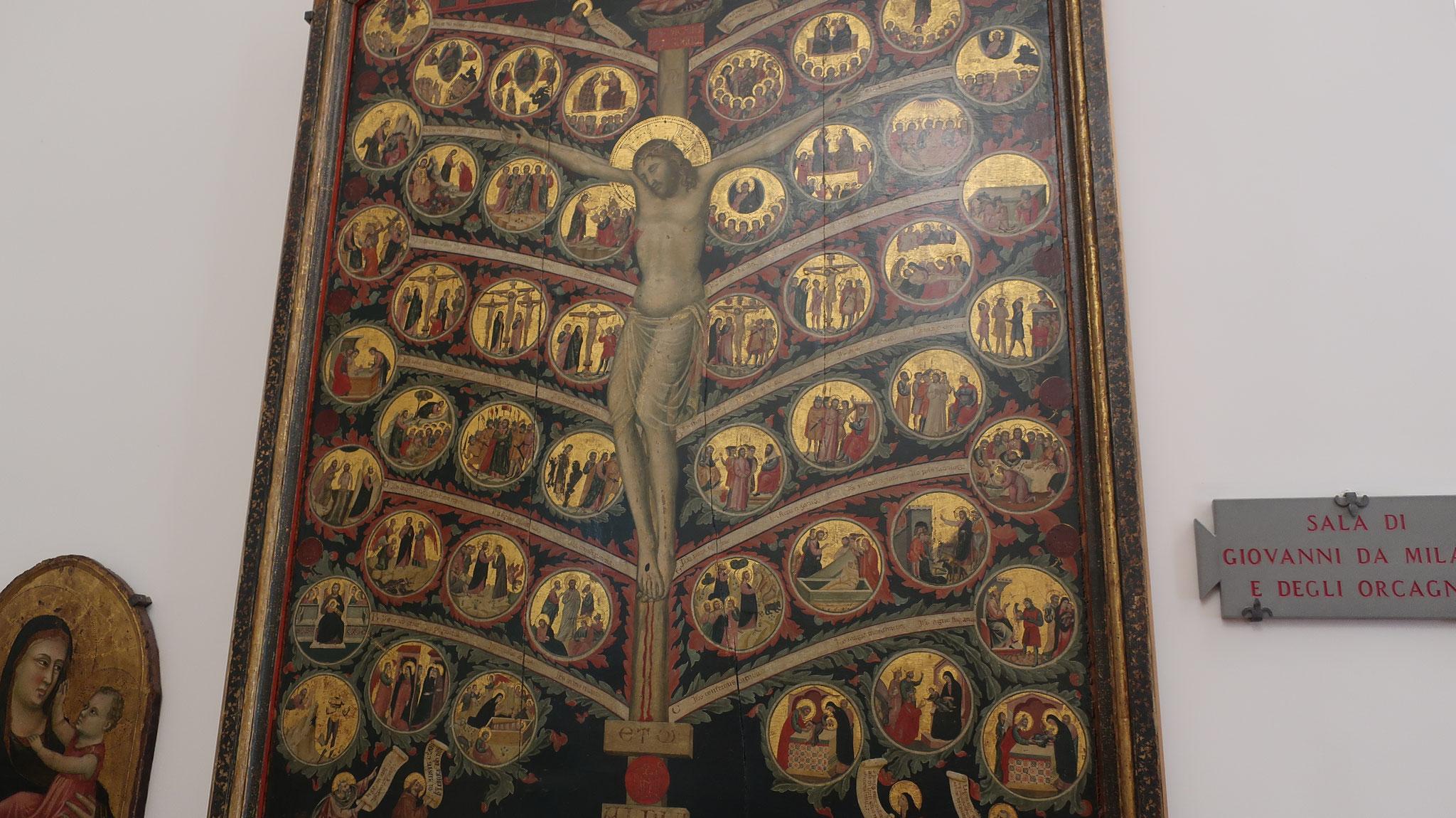 生命の木。パチーノ・ディ・ブオナグイダ 作。