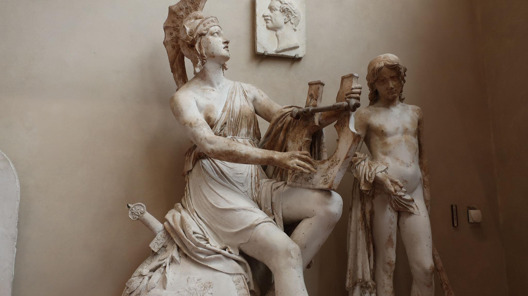 知恵と戦いの女神「アテナ」