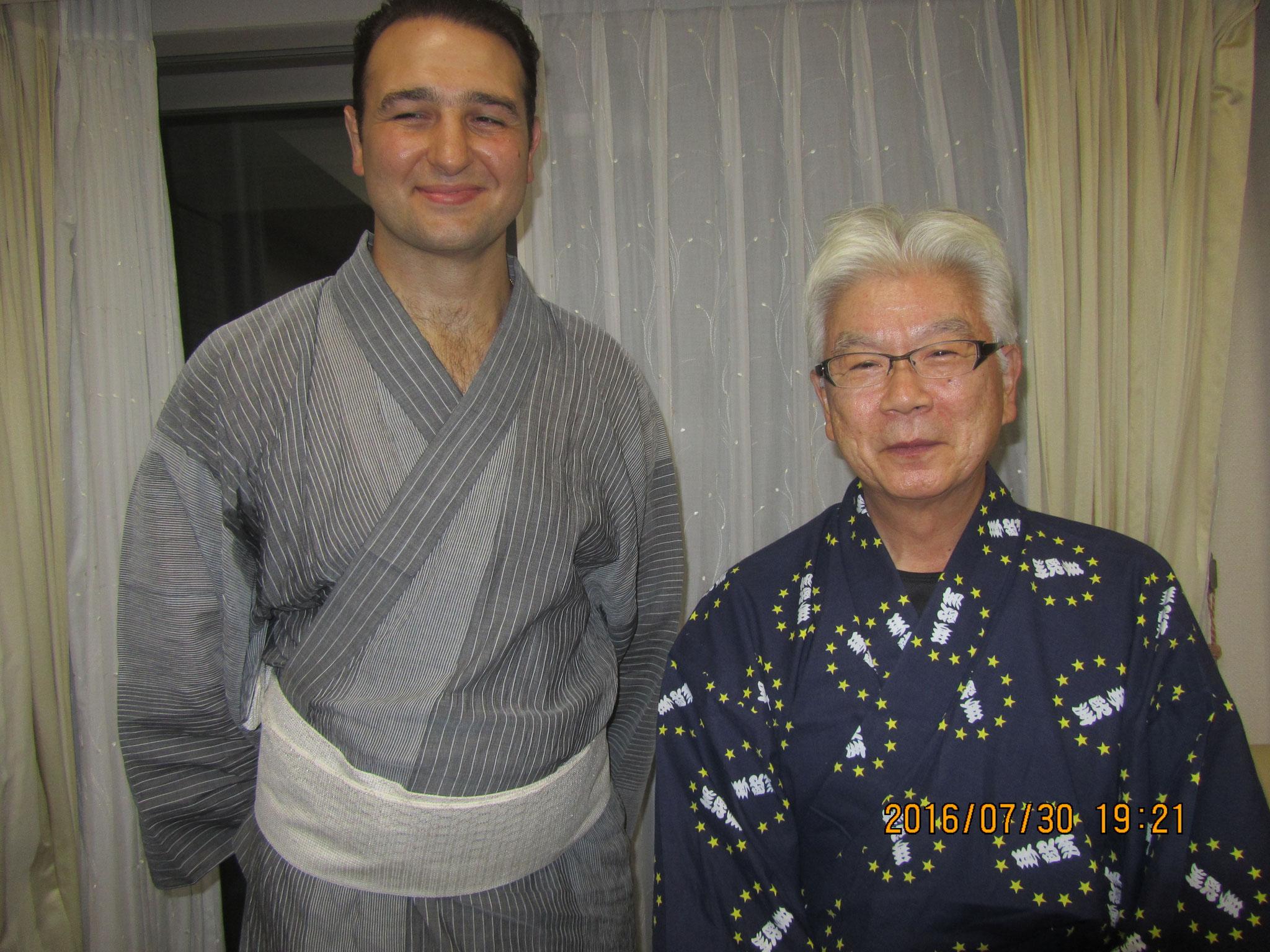 恩人、永井国雄先生が親方を紹介して下さいました。