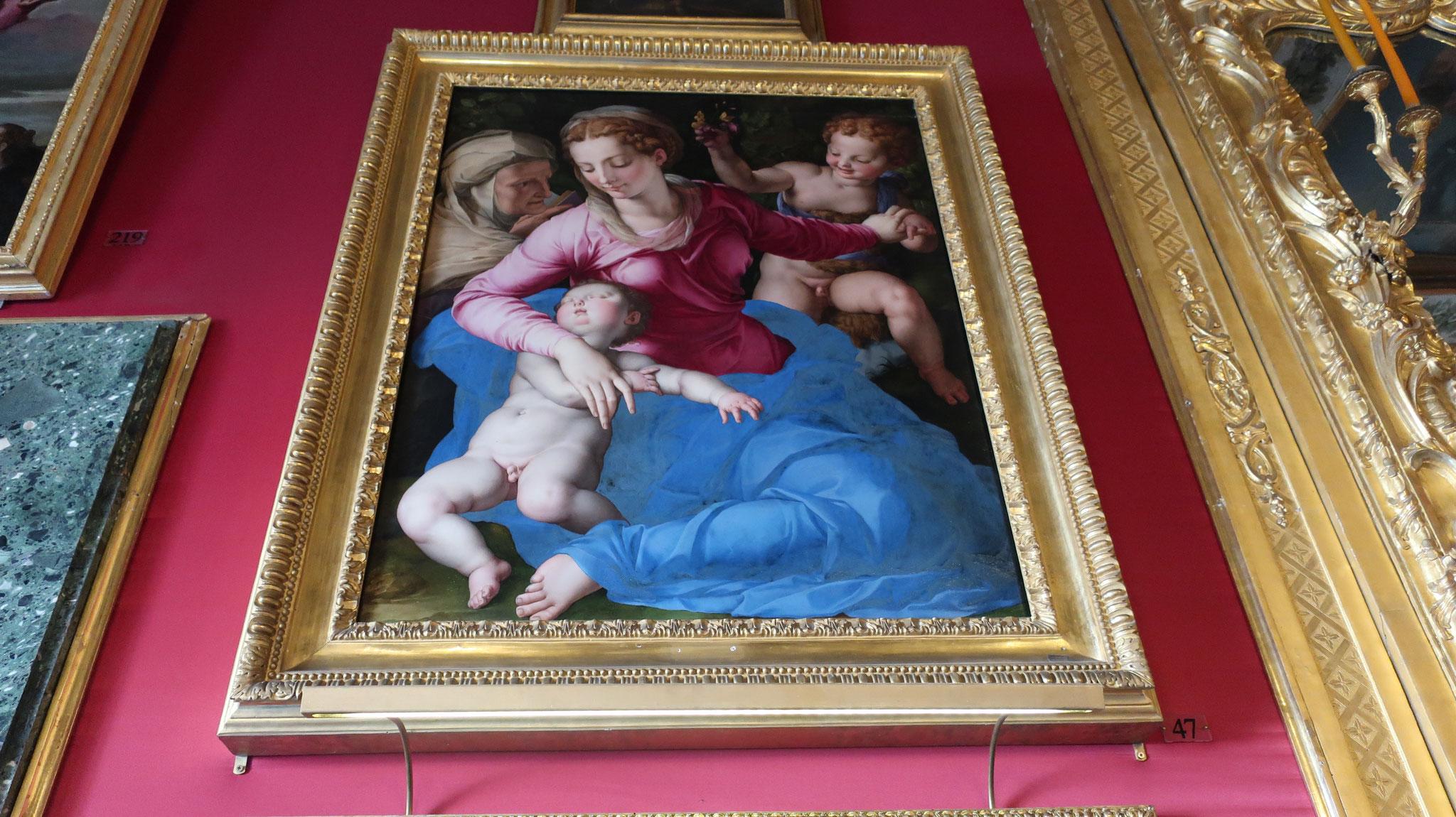 「聖母とまどろんだ幼児イエス、聖エリザベッタと聖ジョヴァンニーノ」