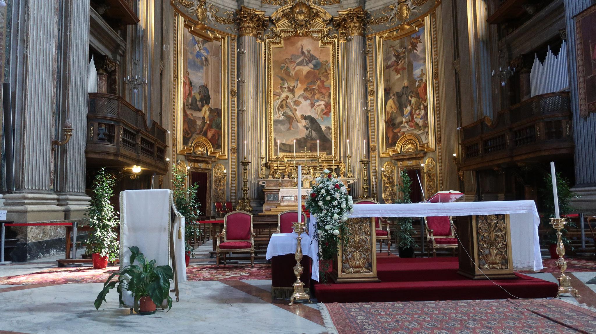 聖イグナチウス・ロヨラ教会。イエズス会の創設者です。
