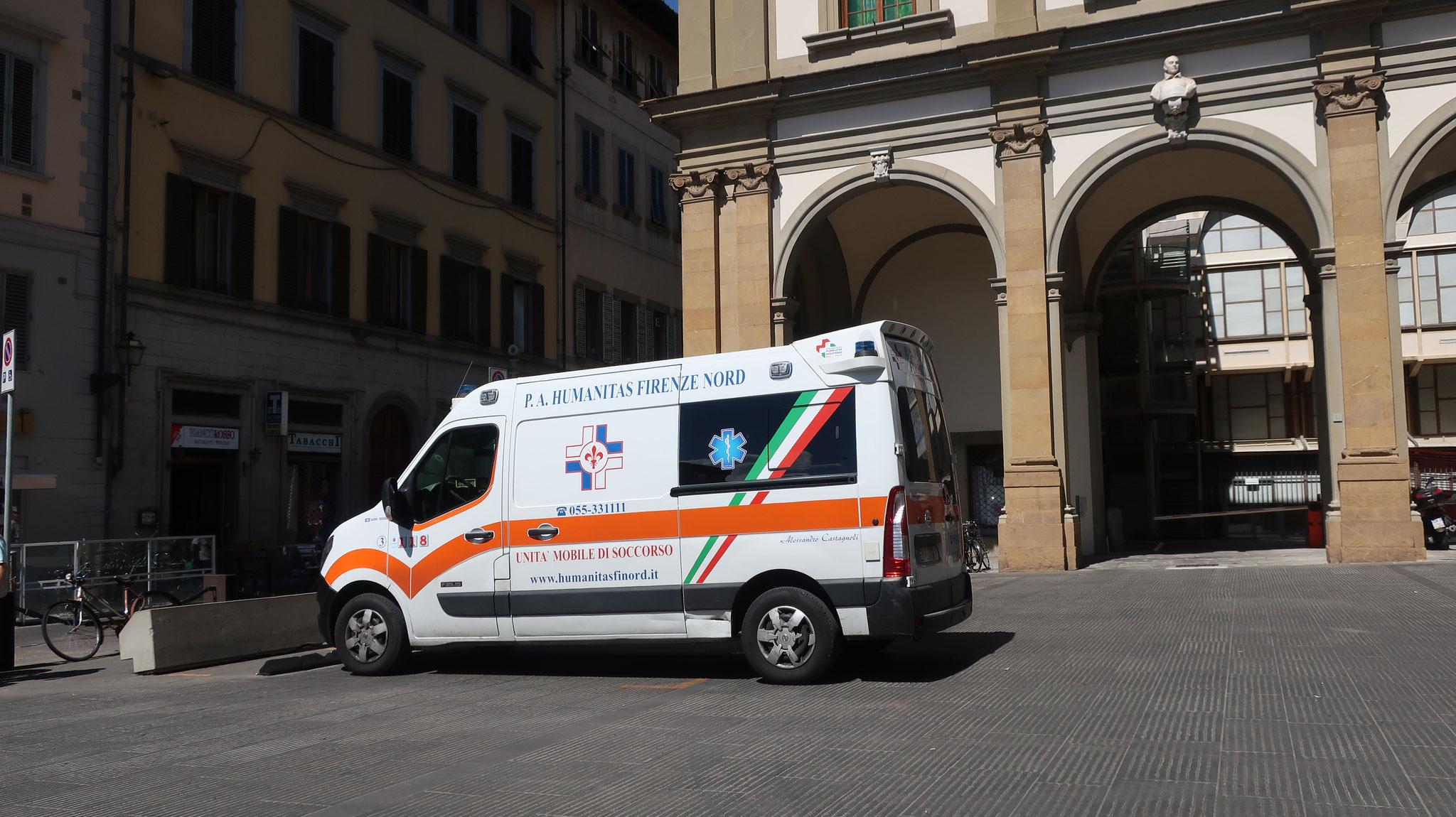 現在は、主として救急病院として活動しています。