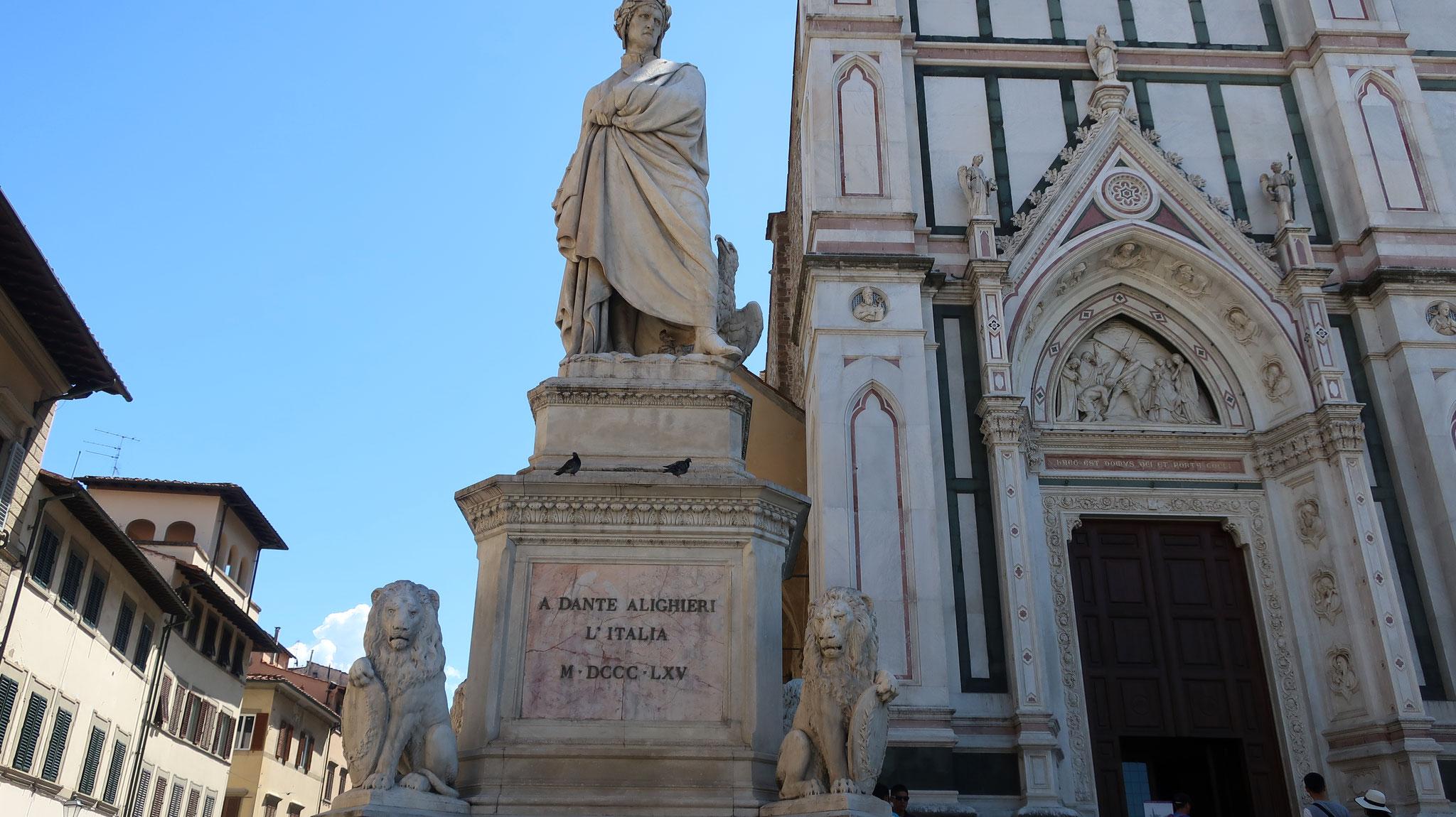 ダンテ・アリゲリ。フィレンツェ出身、 「神曲」の著者。