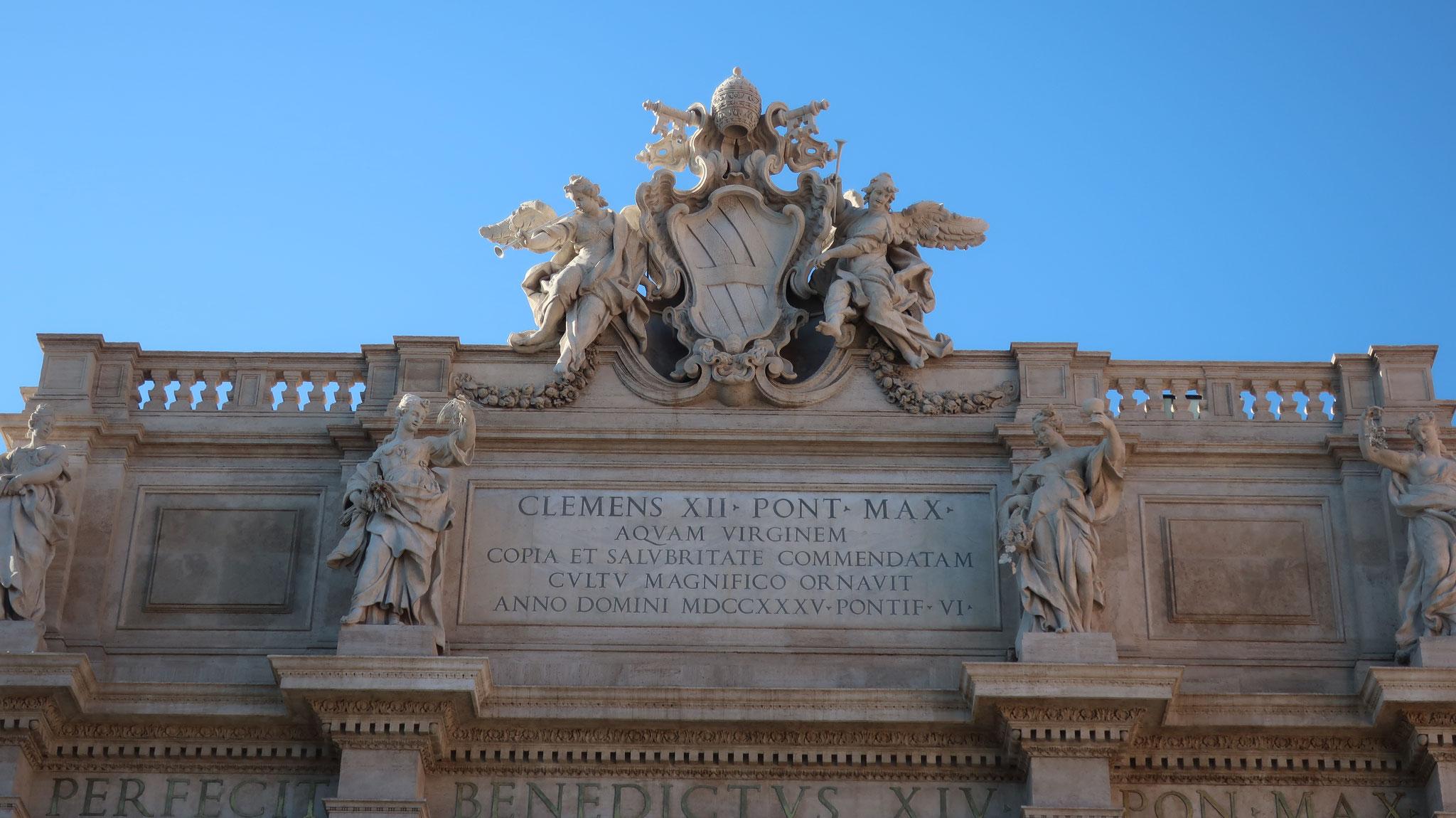 「乙女の水道」の端末を、18世紀、クレメンス12世の命により、二コラ・サルヴィが改造しました。