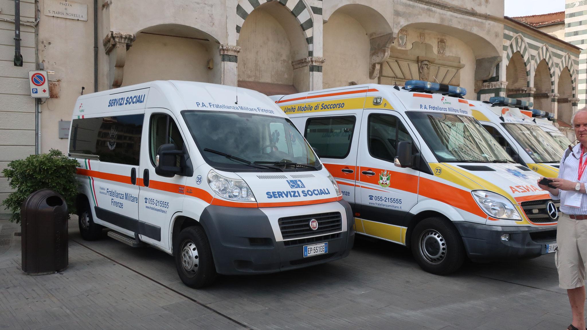 教会所有の救急車