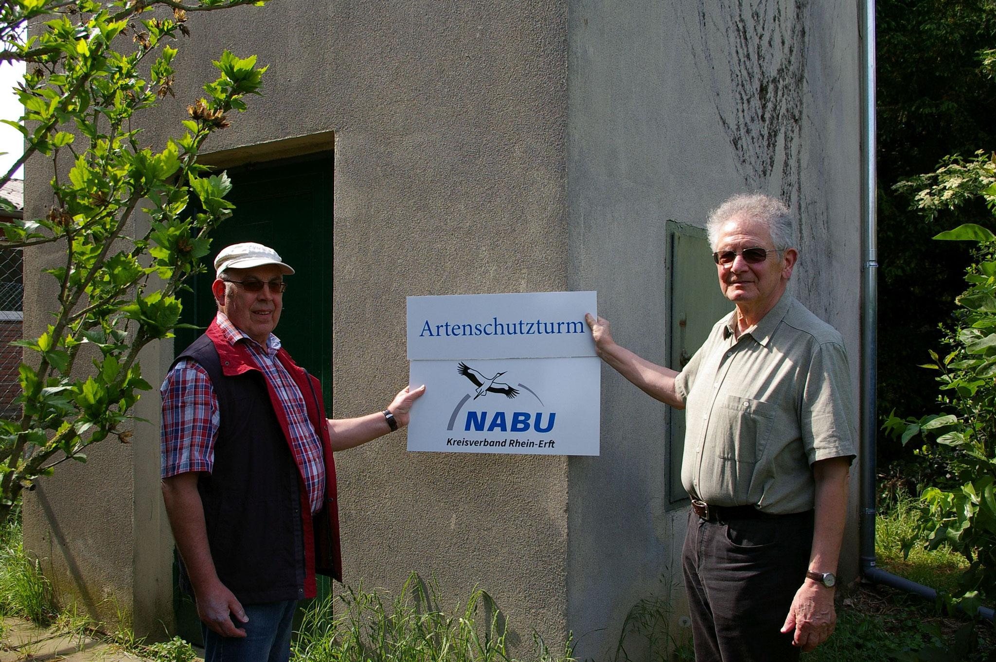 Artenschutzturm in Bedburg Bild: Susanne Kirsch