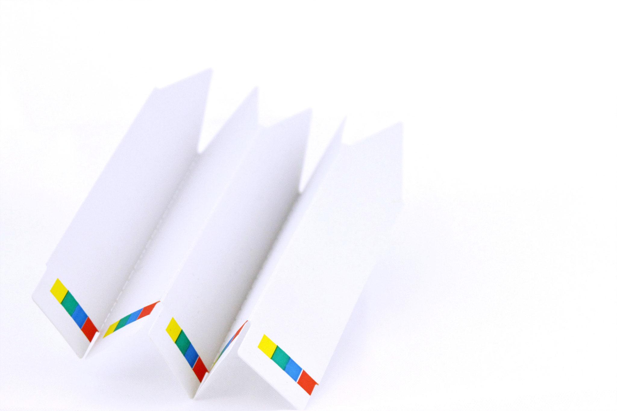 Stecketiketten weiß oder farbig