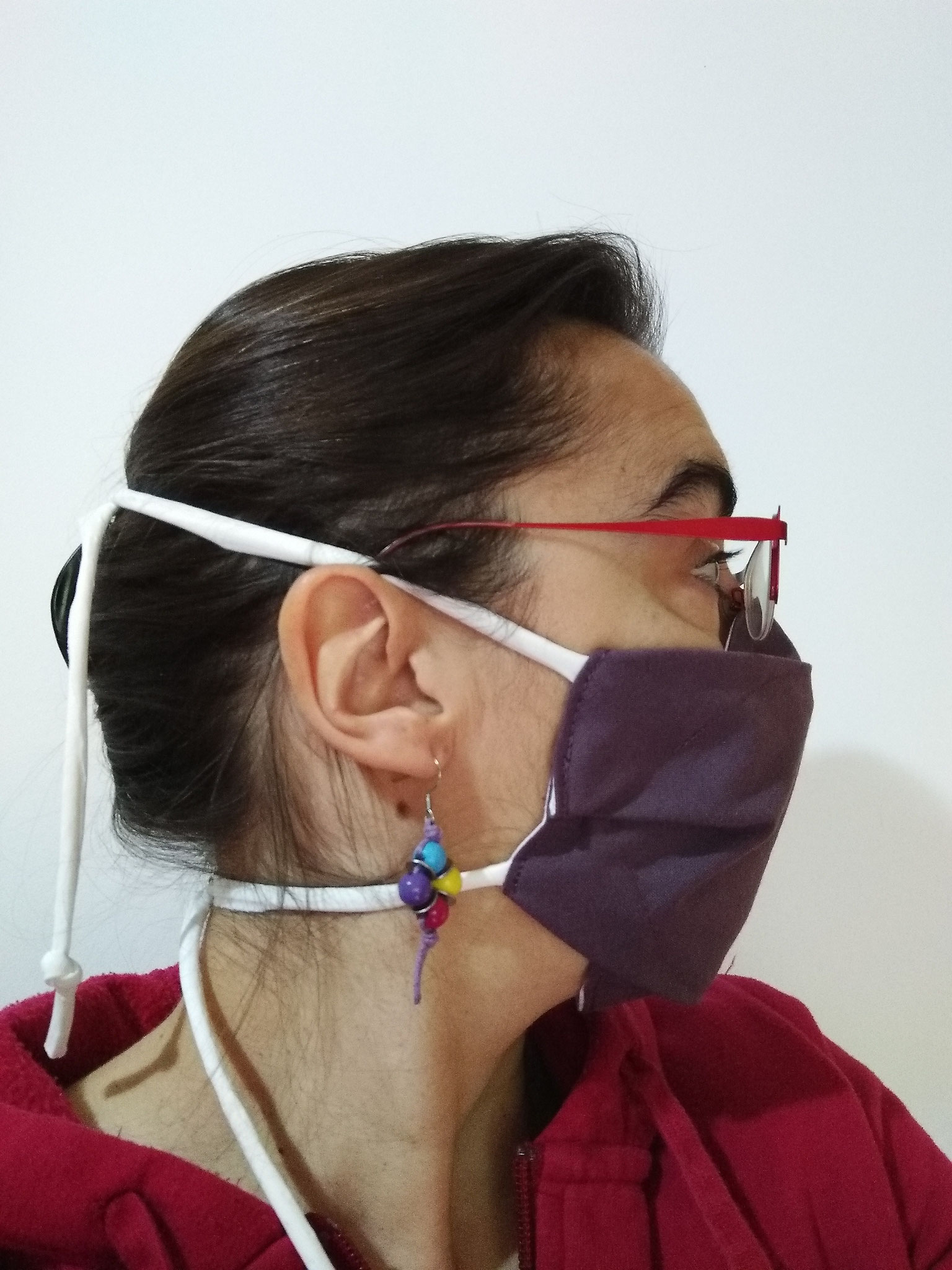 Masque AMÉLIORÉ ADULTE liens à serrer derrière la tête
