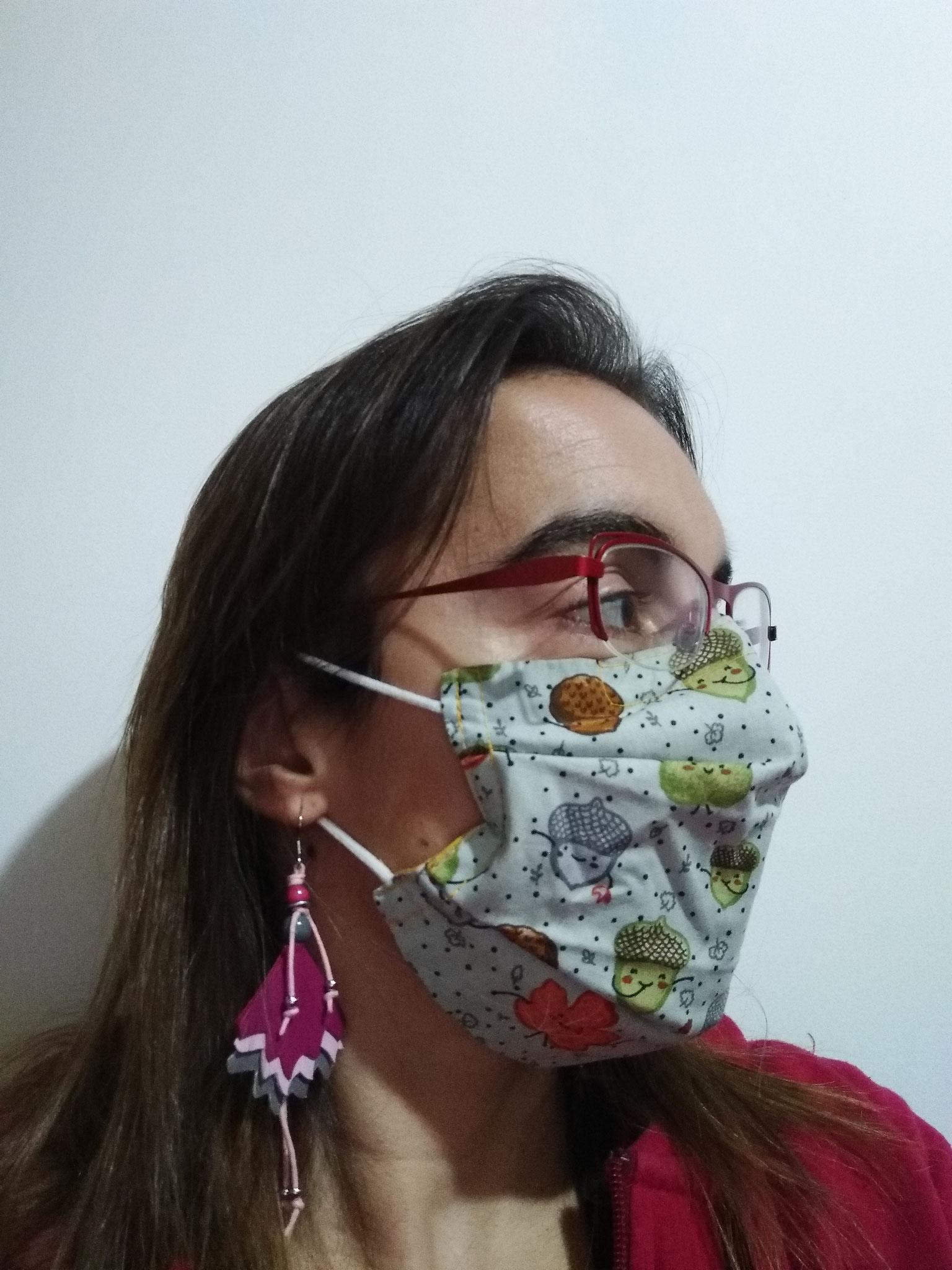 Masque STANDARD ADULTE liens derrière les oreilles